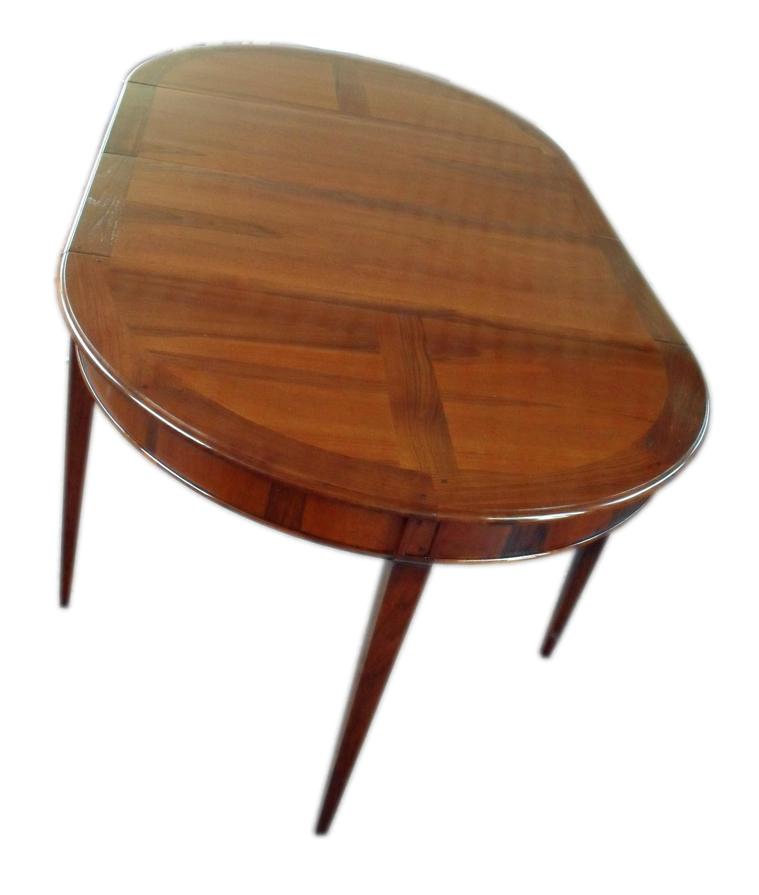 Tavolo consolle mezzaluna allungabile classico la - Tavolo consolle allungabile stile classico ...