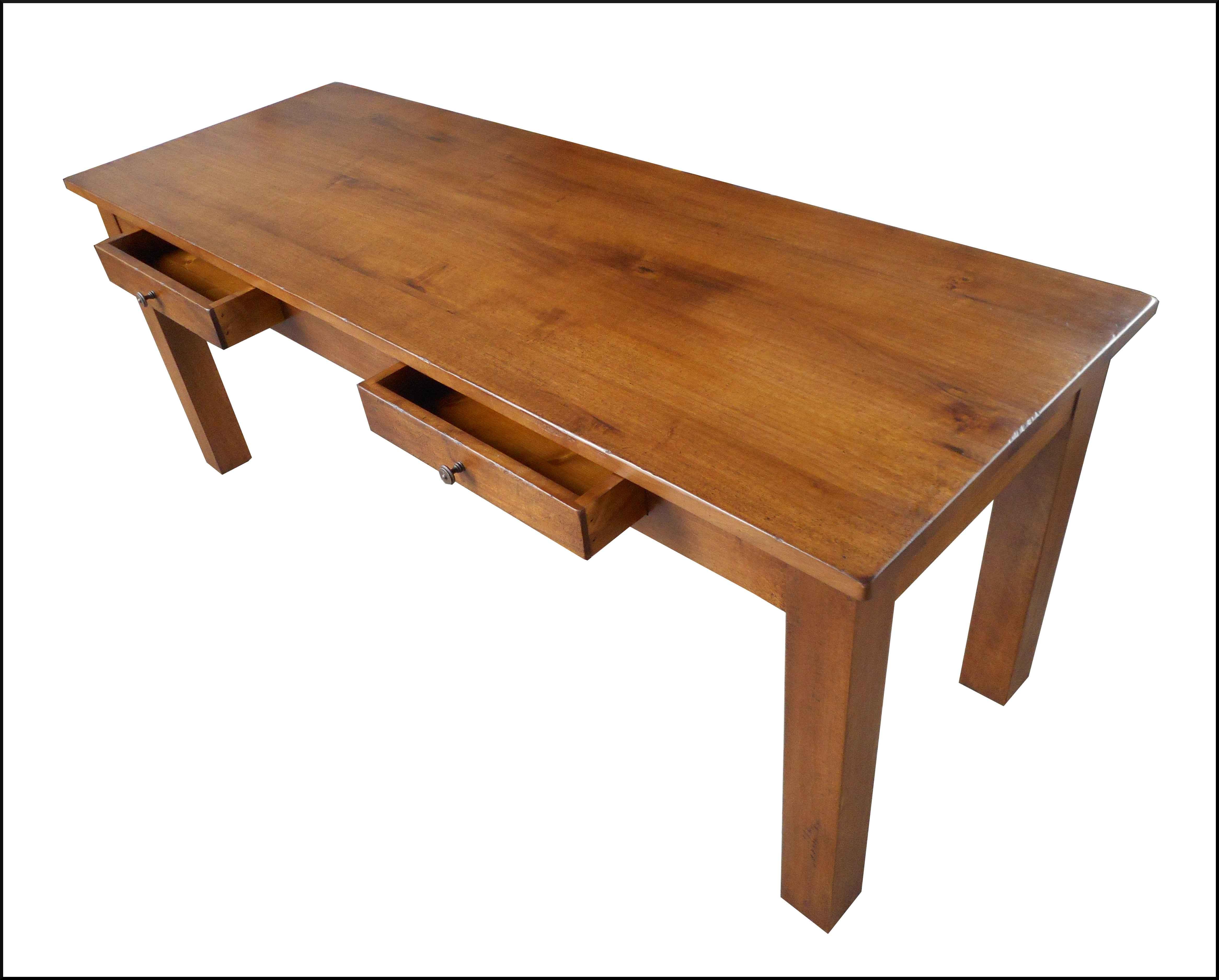 Tavolo penisola scrittoio con cassetti