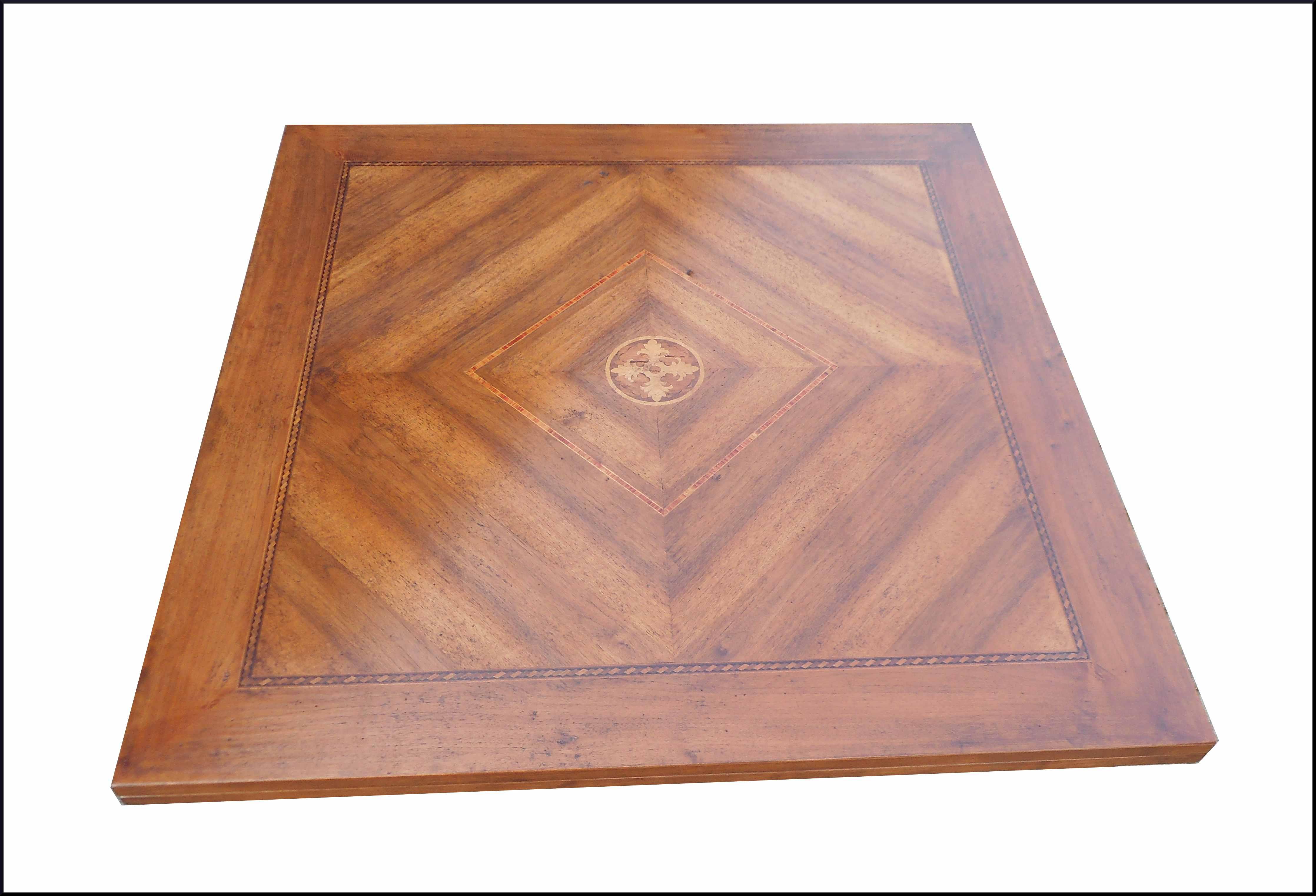 Tavolo classico quadrato 130 allungabile