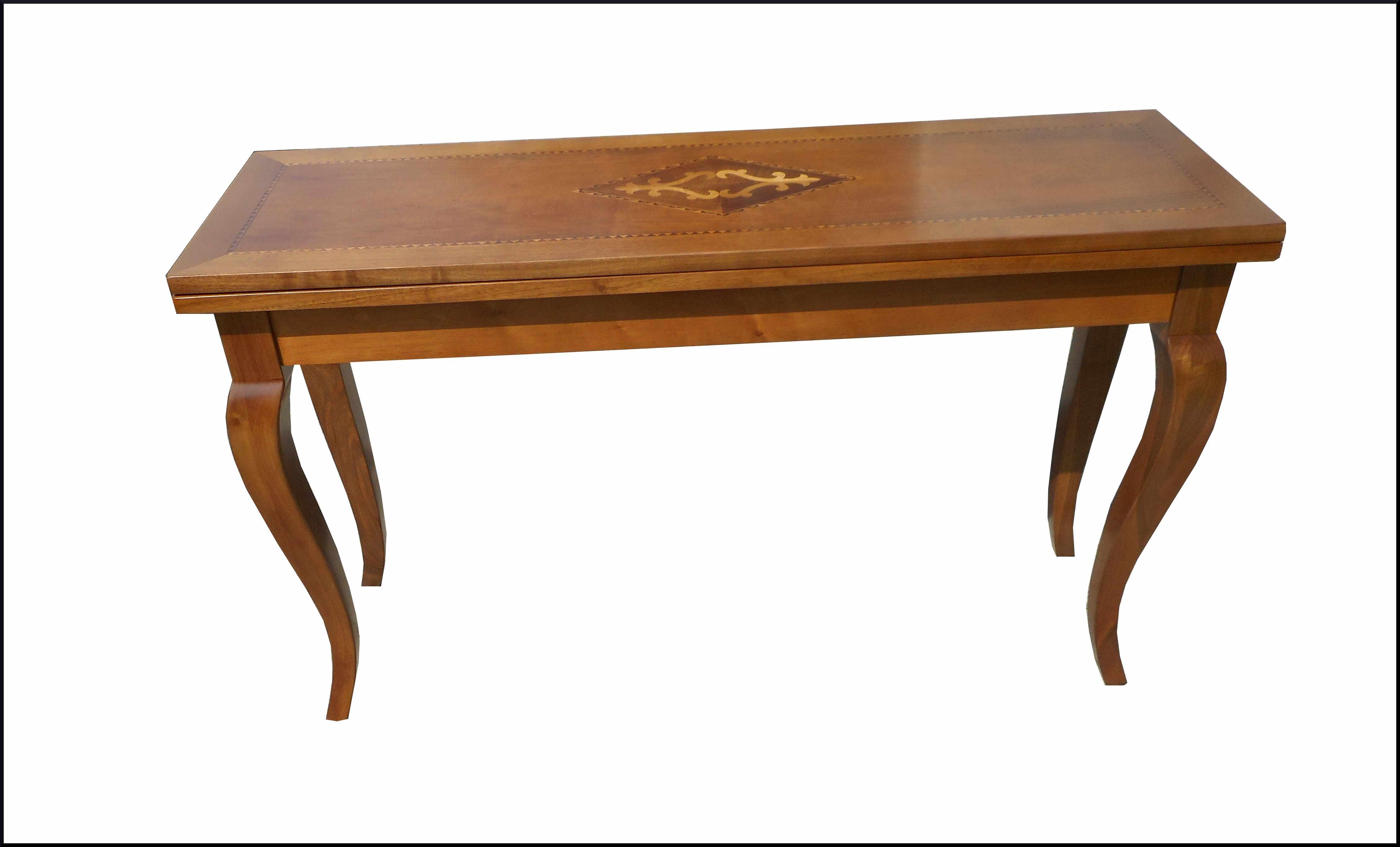 Tavolo consolle classico lunghezza 140