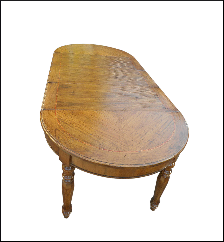 Tavolo rotondo Luigi Filippo  classico allungabile