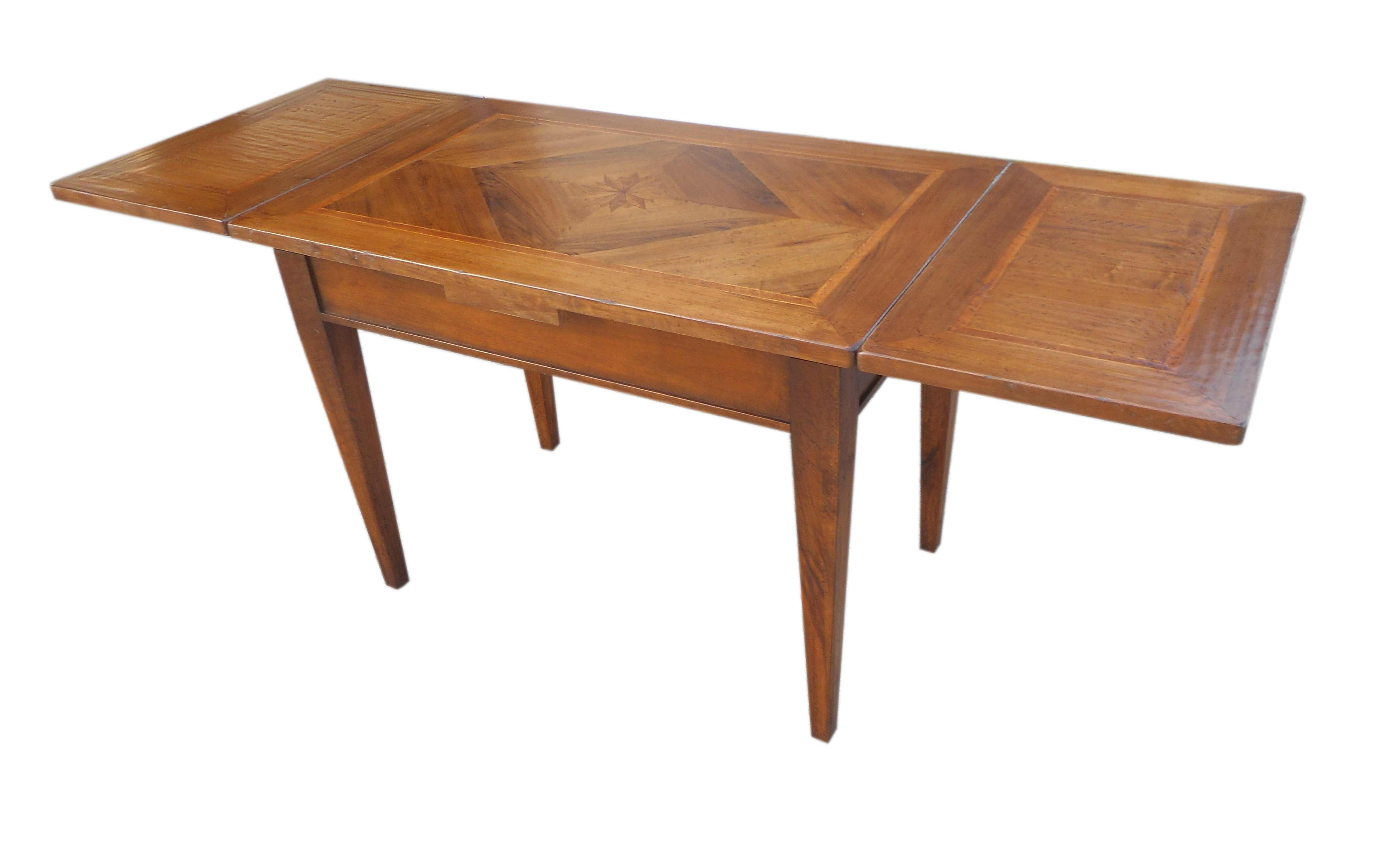 Tavolo rettangolare classico allungabile
