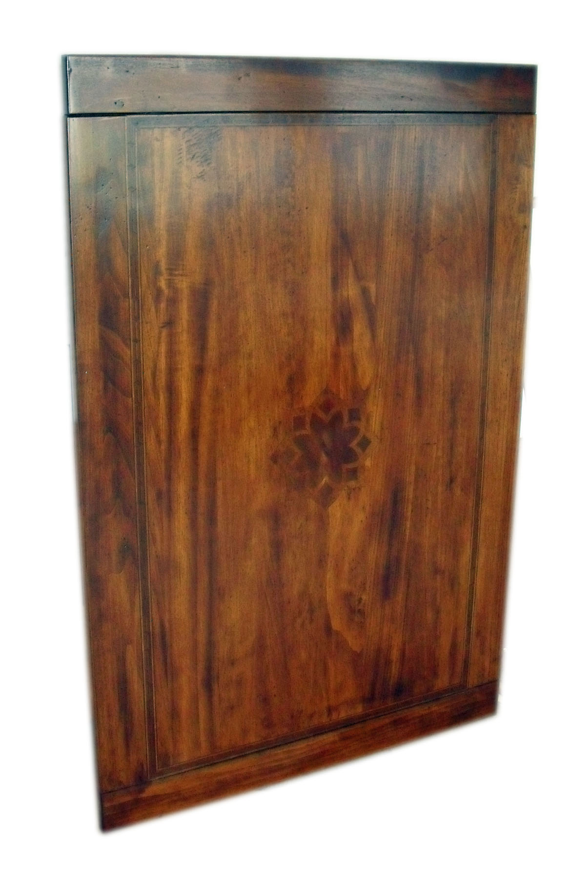 Tavolo allungabile arte povera anticato intarsio - La Commode di ...