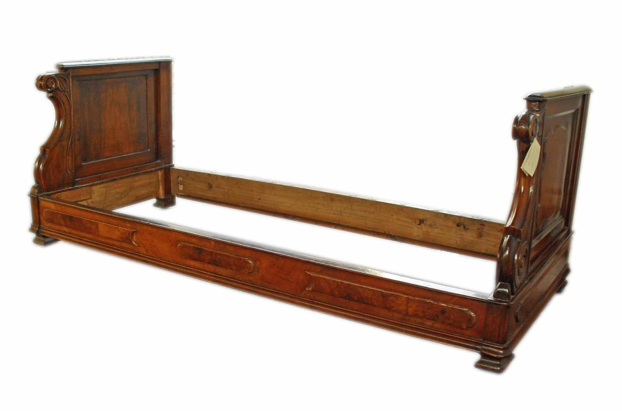Antico divano letto luigi filippo meta 800 - La Commode ...