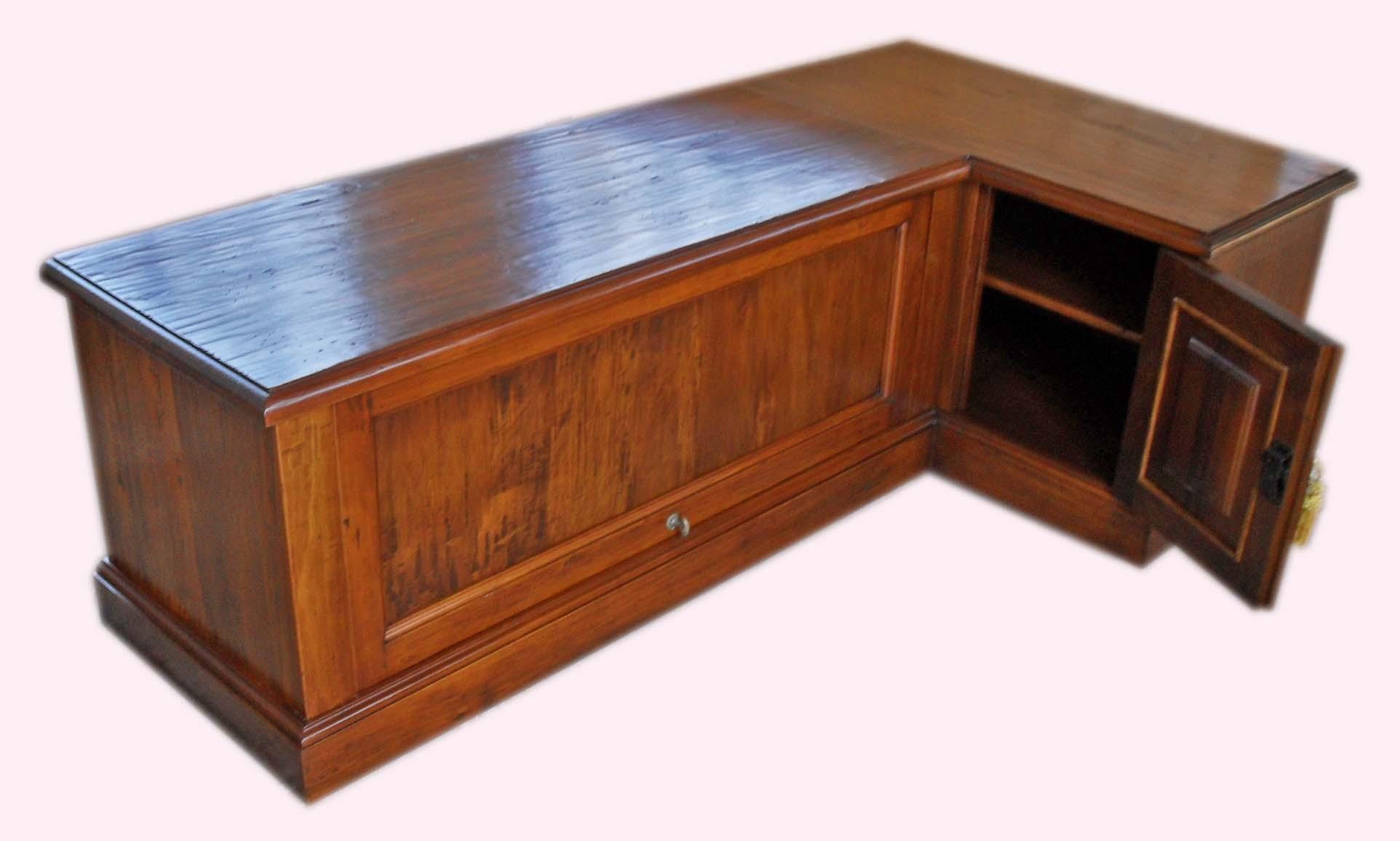 Porta tv angolo legno vecchio la commode di davide corno - Mobili per tv ad angolo ...