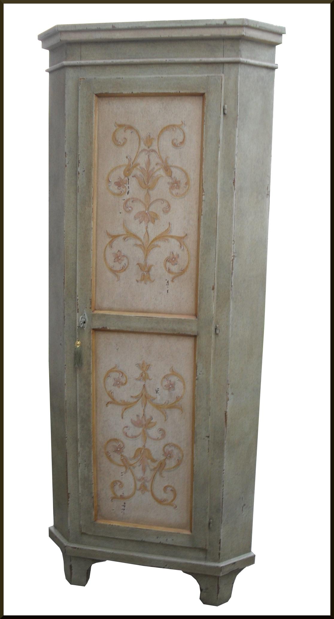 mobili dipinti brianza angoliera cantonale la commode