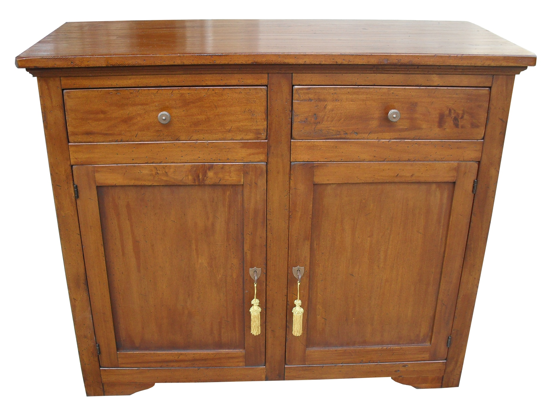 Madia in legno massello arte povera 2 porte la commode for Mercatone uno madia