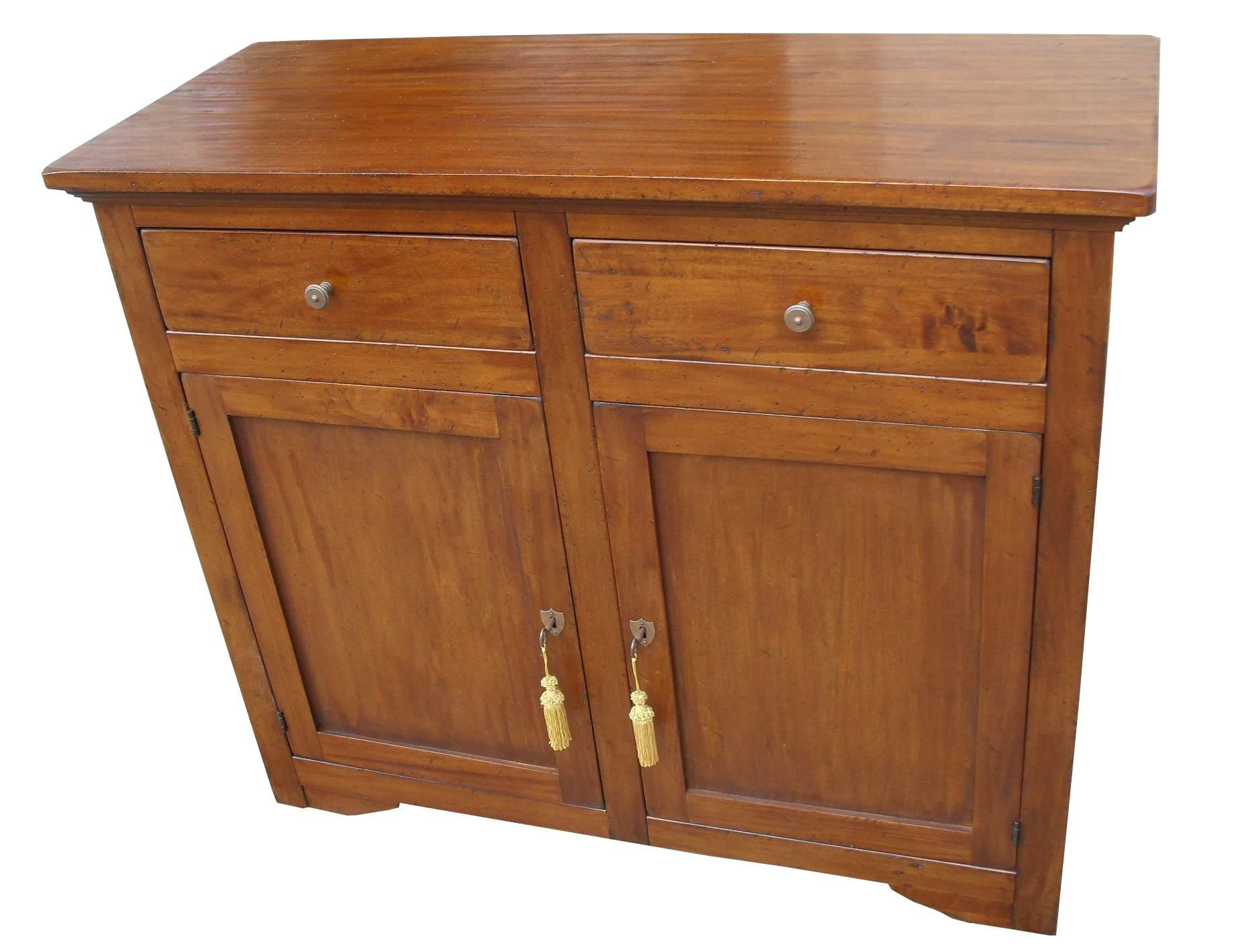 Madia in legno massello arte povera 2 porte la commode - Mobili in legno arte povera ...