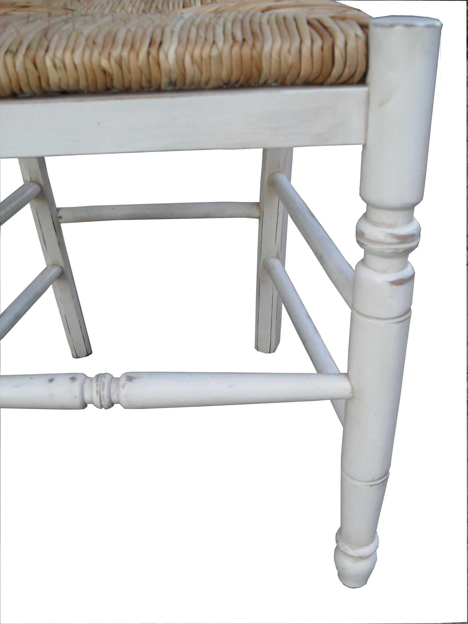 Sedia provenzale con seduta paglia
