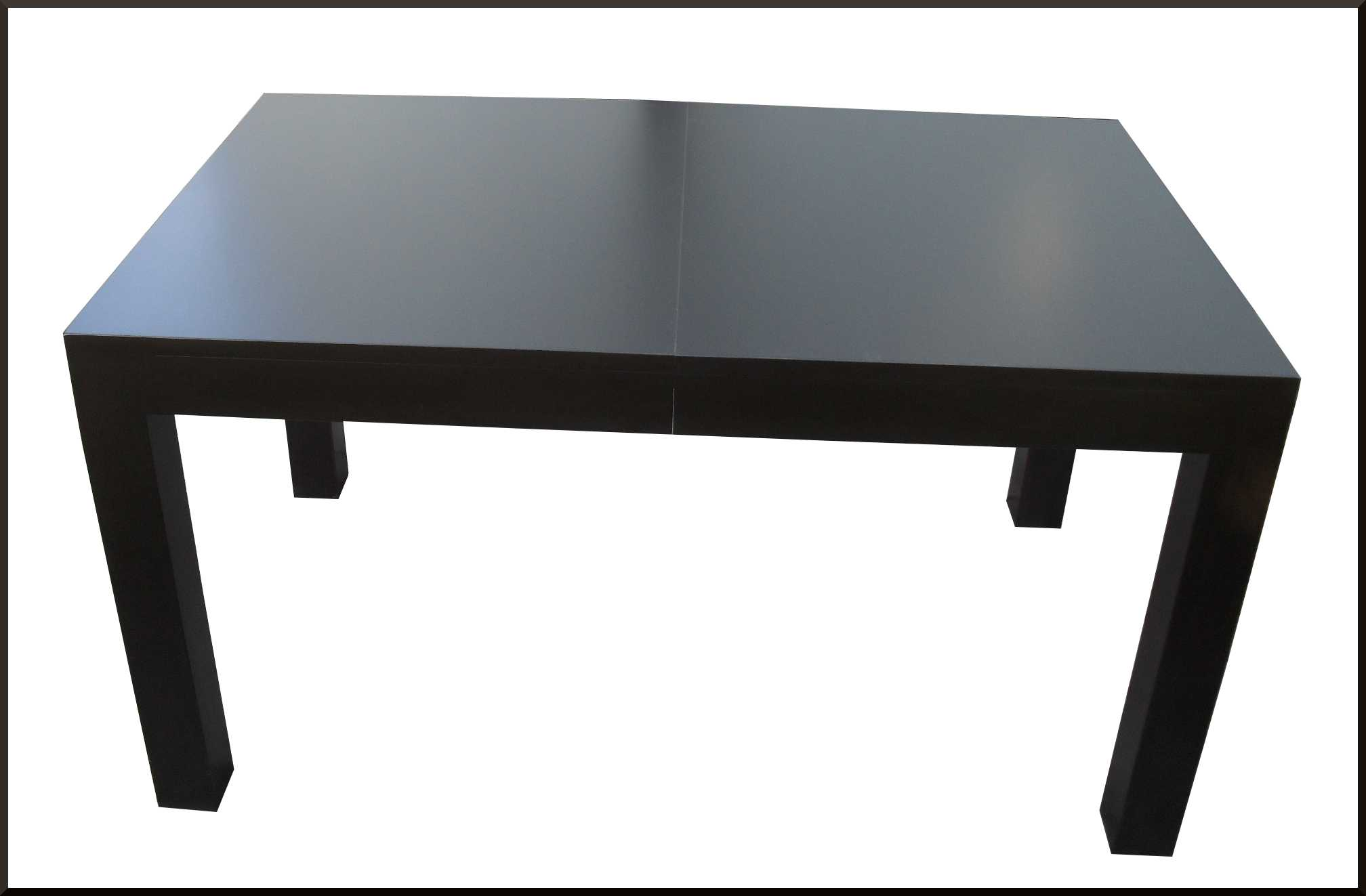 Tavolo linea moderna color wenge