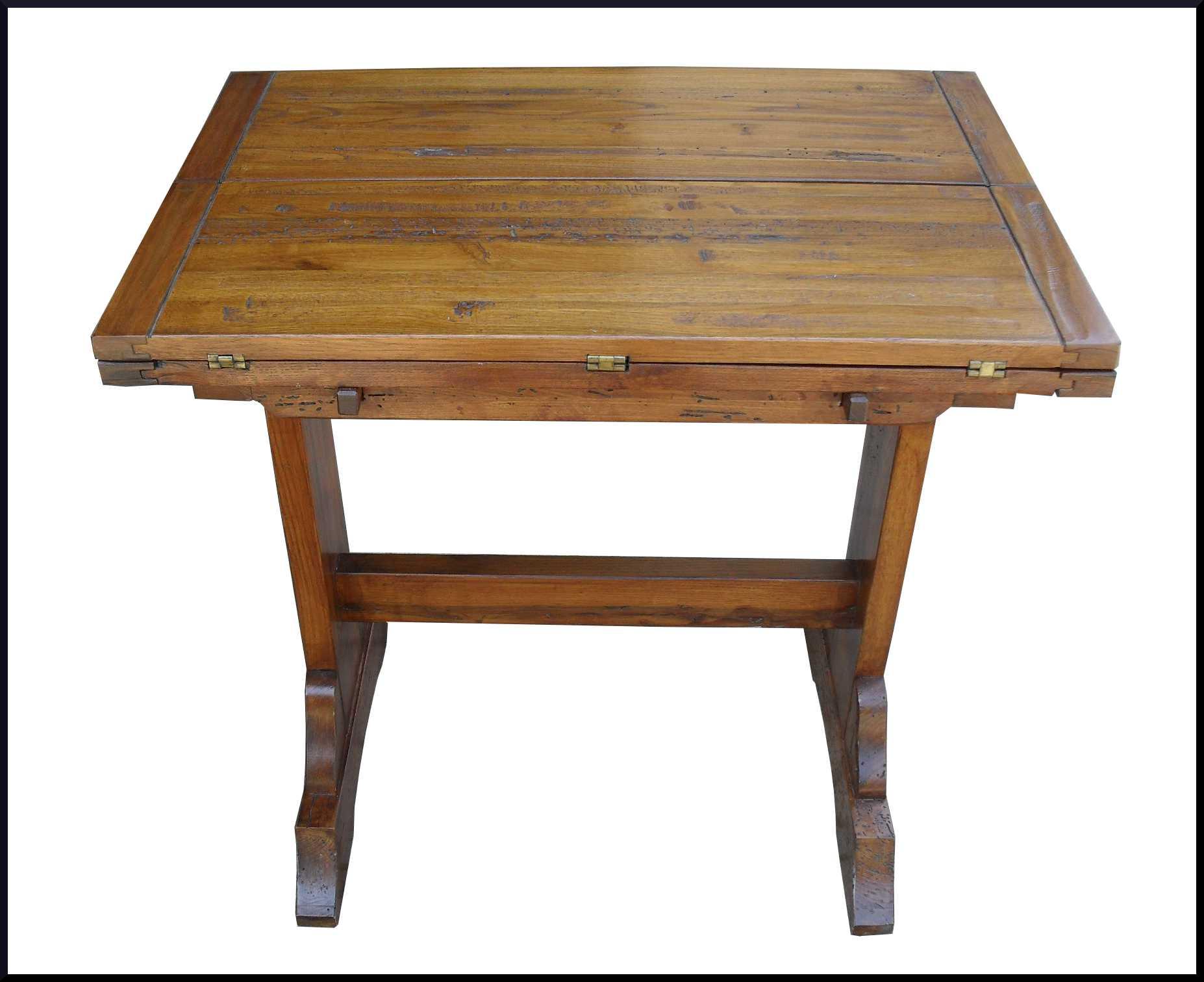 Piccolo e funzionale tavolo apribile da cucina realizzato for Tavolo piccolo da cucina