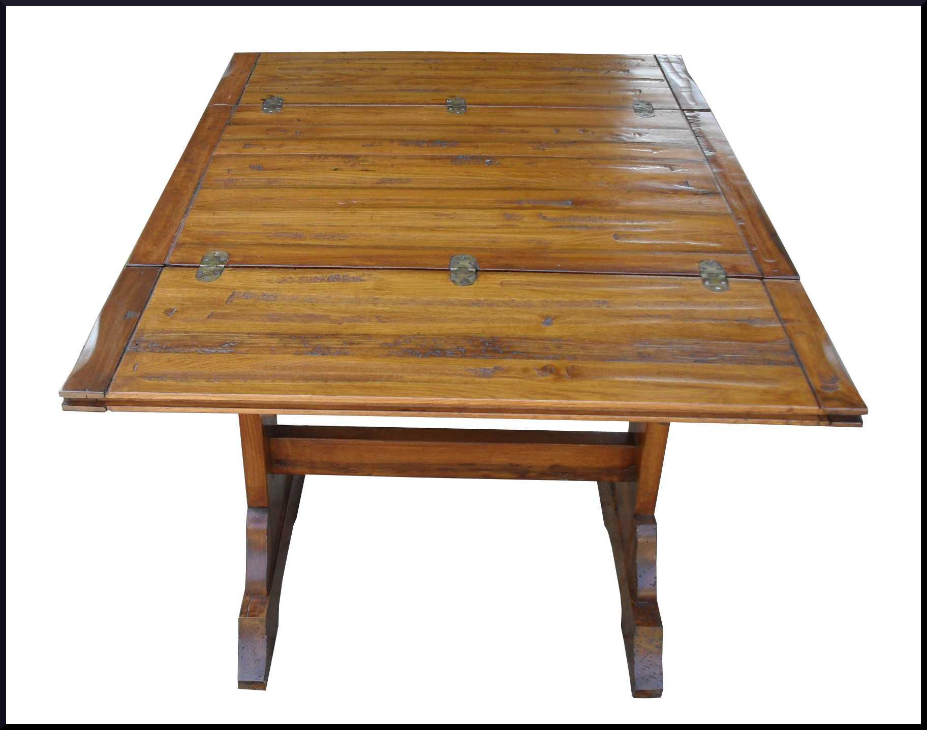 Piccolo tavolino fratino apribile a portafoglio