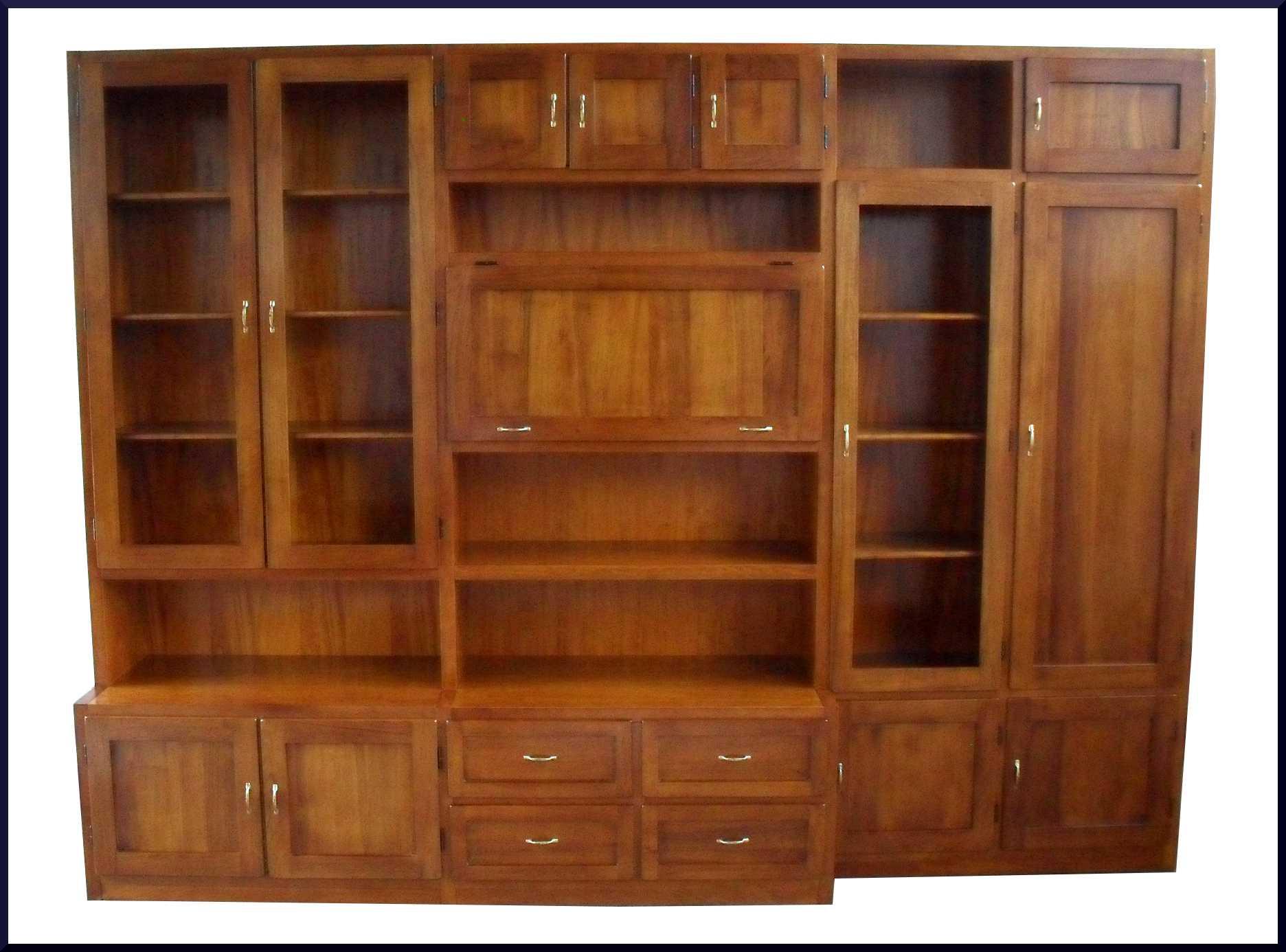 Libreria parete attrezzata classica su misura la commode - Libreria parete ...