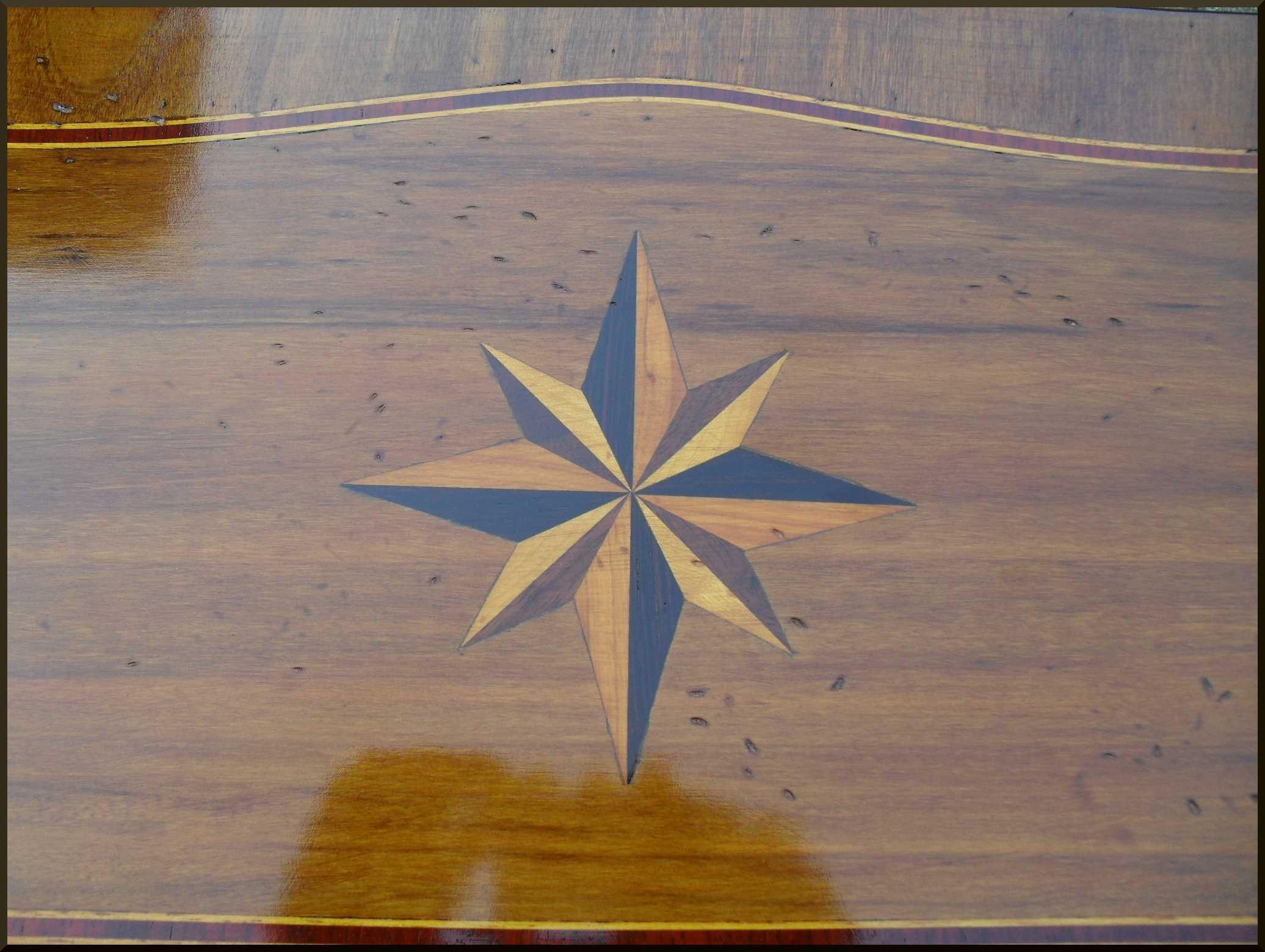 Consolle tavolino da ingresso lastronata