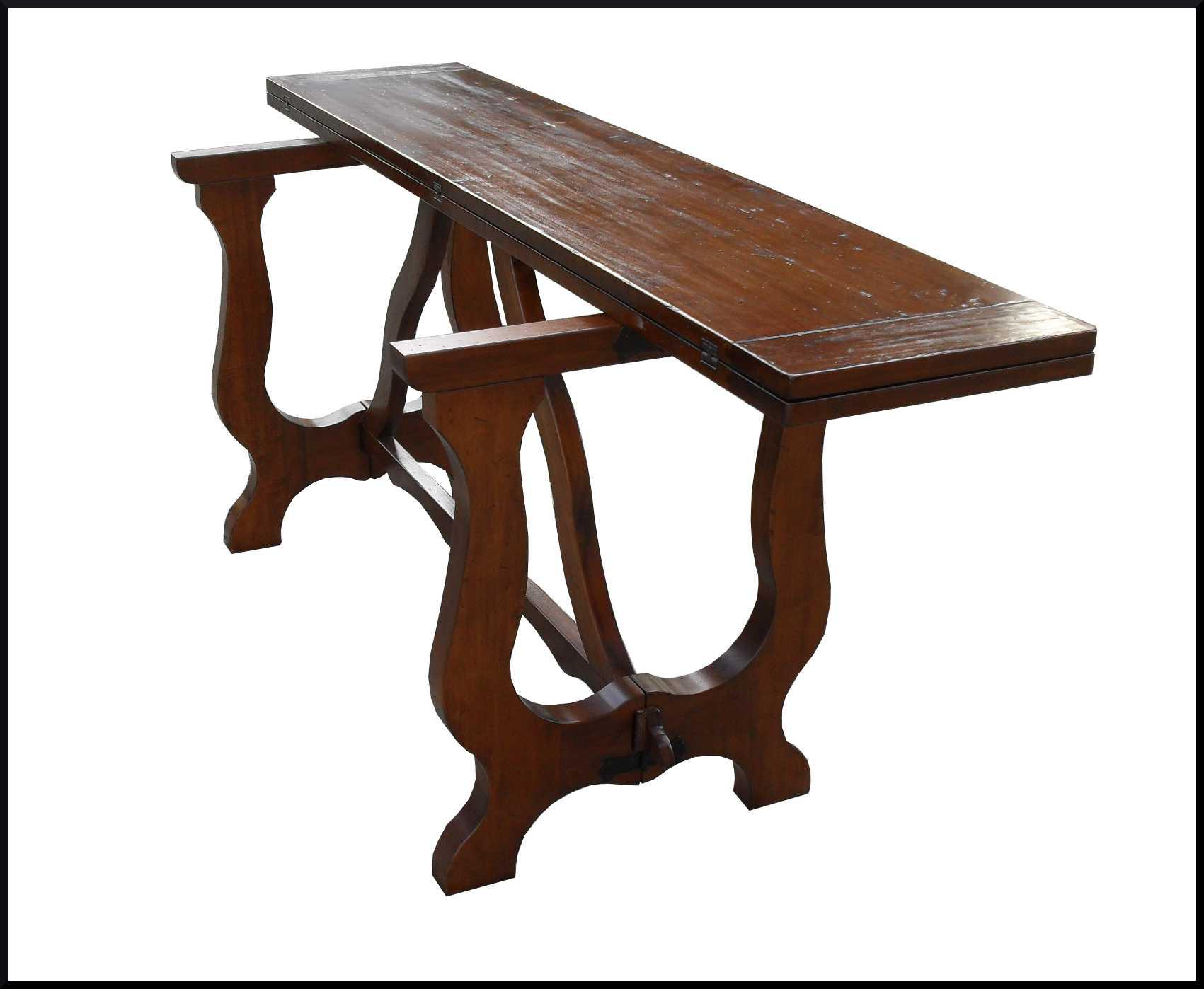 Tavolo tavoli consolle apribili classici la commode di davide corno - Tavolo fratino a libro ...