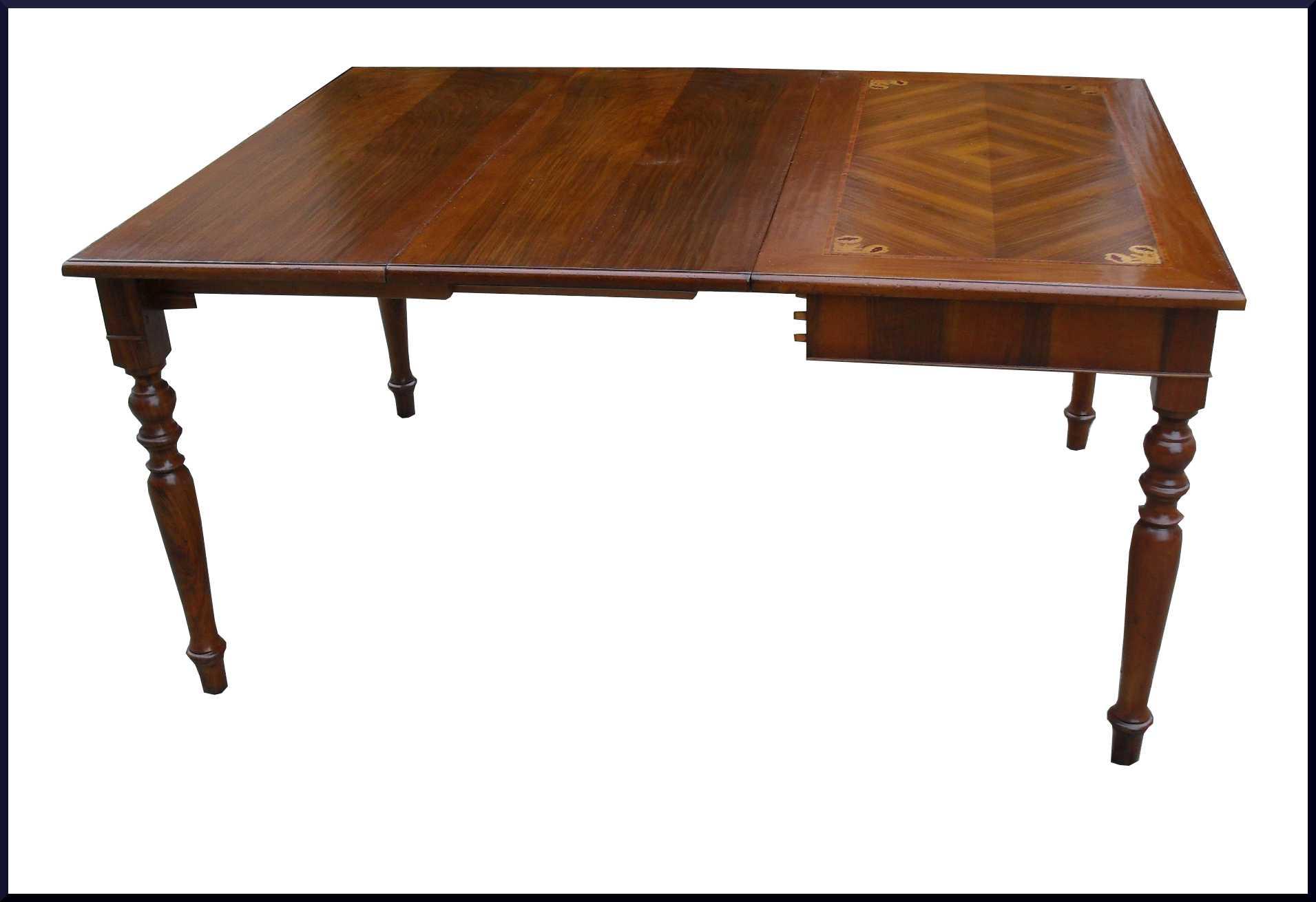 Tavolo consolle classico stile 800