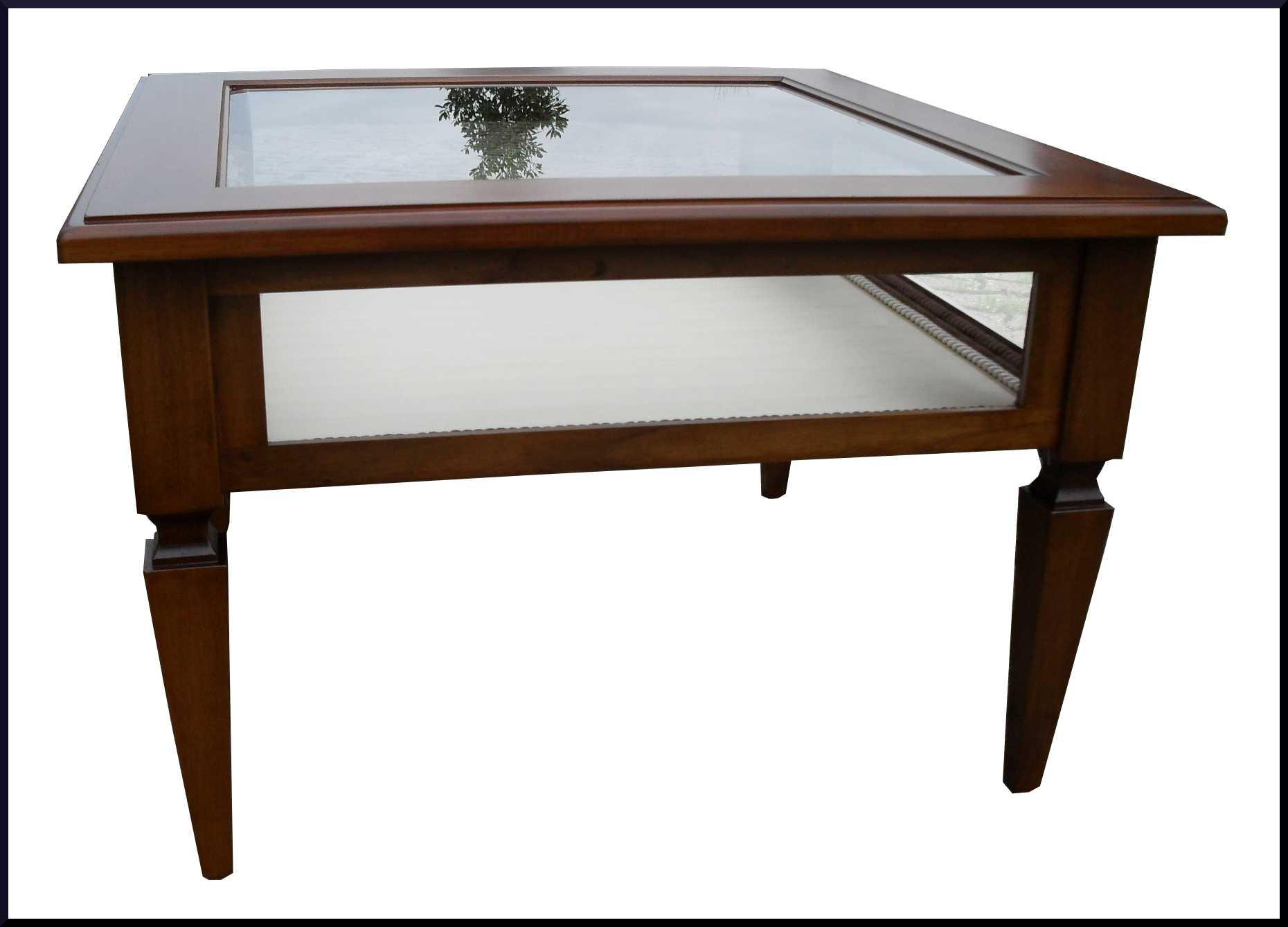 Tavolino da salotto a bacheca per collezioni la commode - Mobili per salotto classico ...
