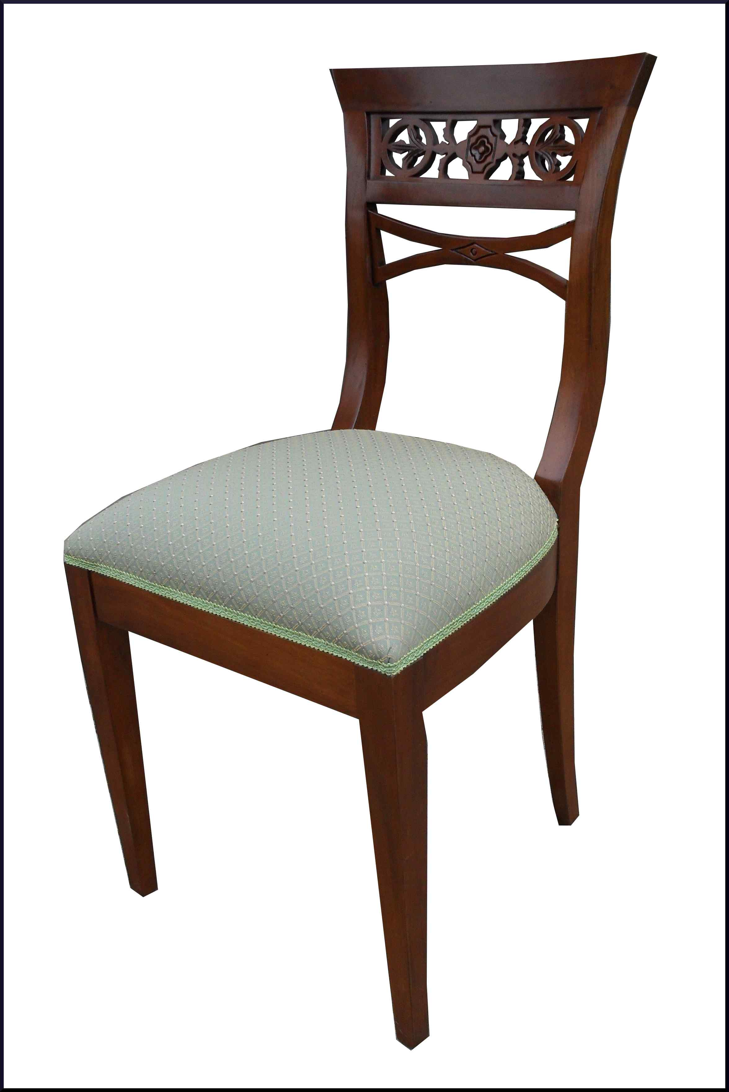 Sedia classica con schienale intagliato la commode di - Schienale sedia ...