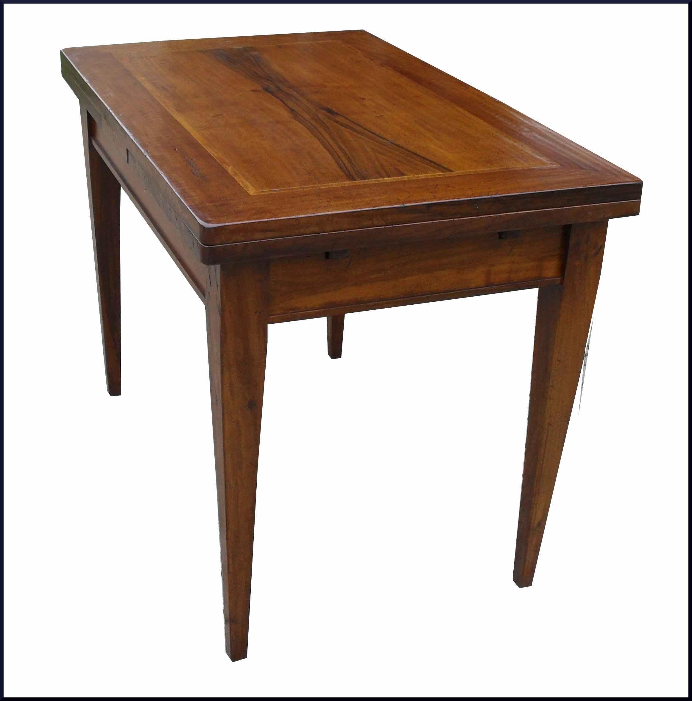 Tavolo a tiro in legno anticato profondita' 70