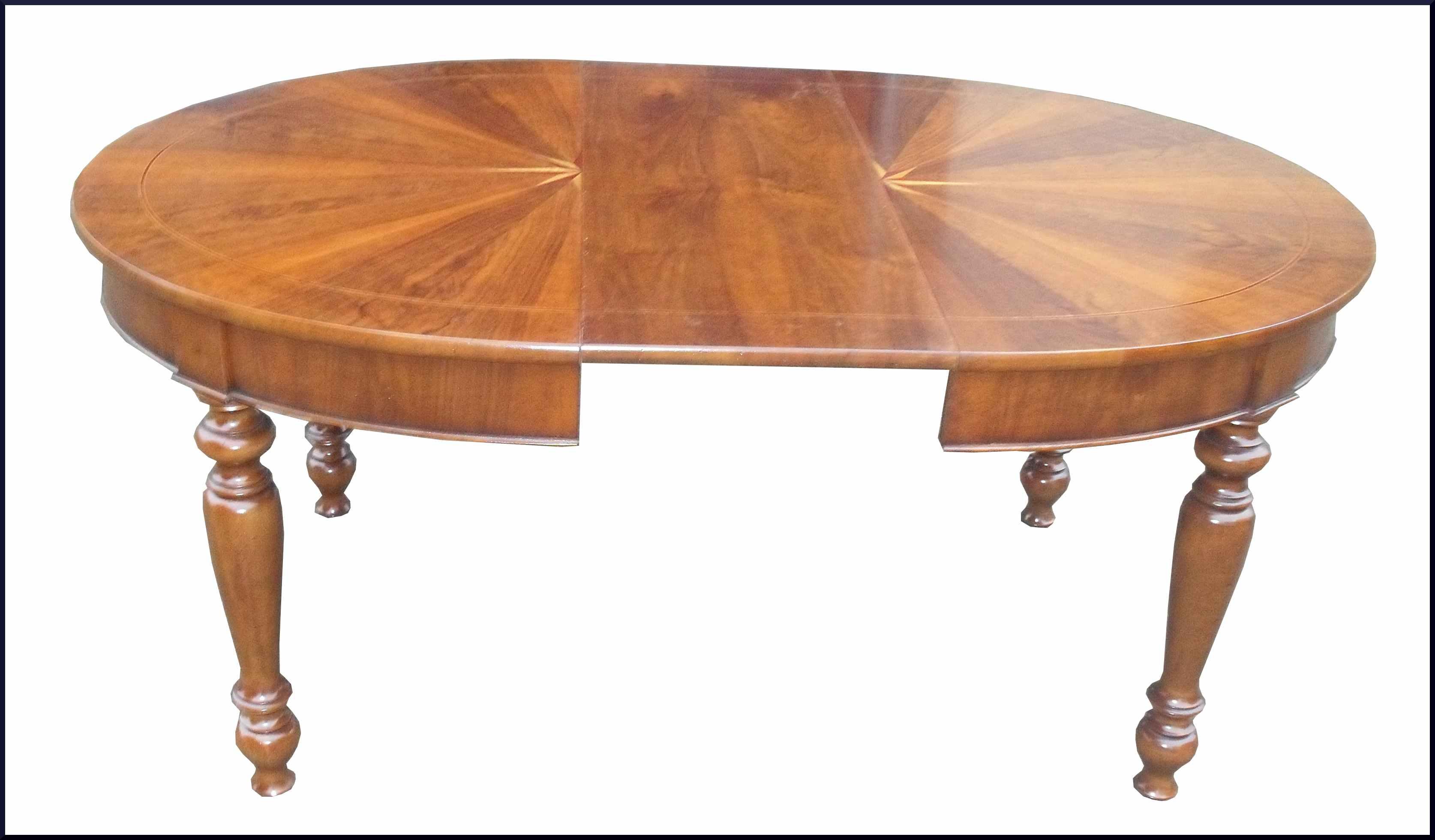 Tavolo ovale classico con rosa dei venti