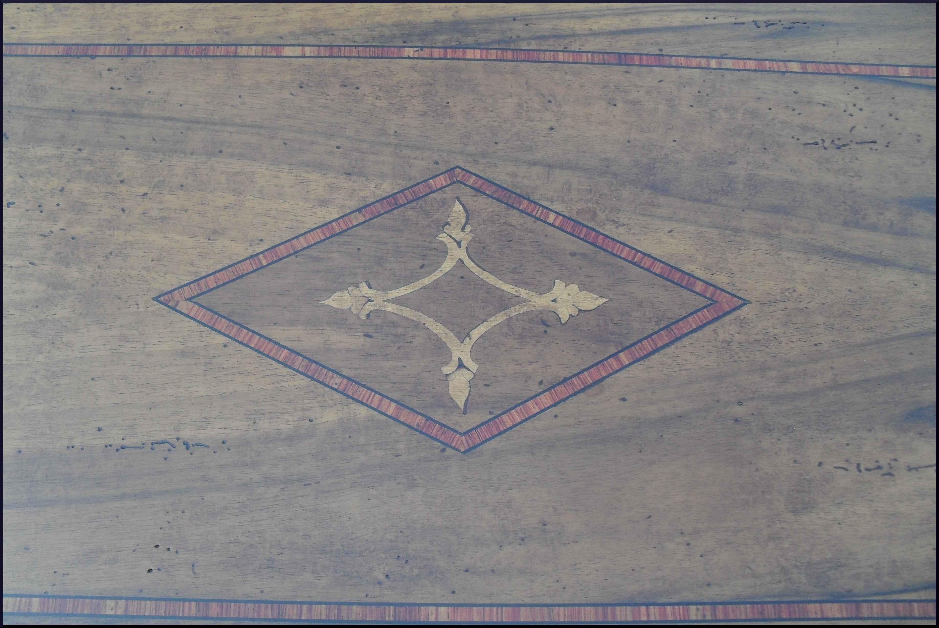 Scrittoio in stile antico con piano scrittura 85
