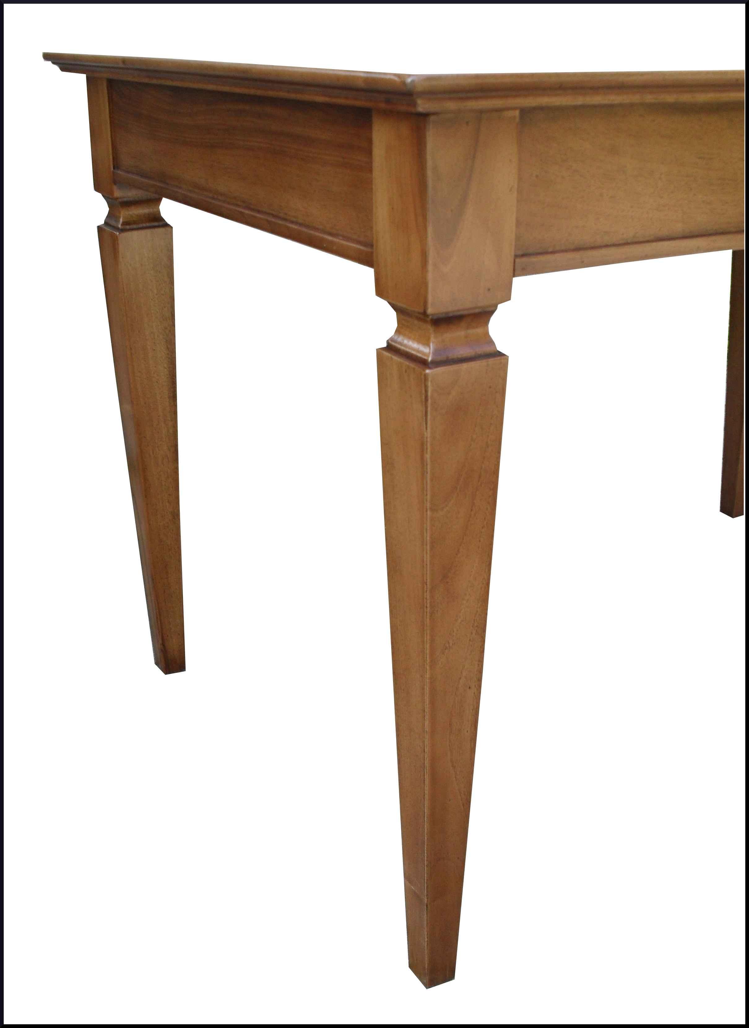 Tavolo classico apribile con prolunghe interne