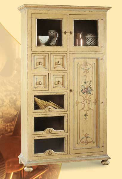 Mettitutto da cucina disponibile colorato dipinto - La Commode di Davide Corno