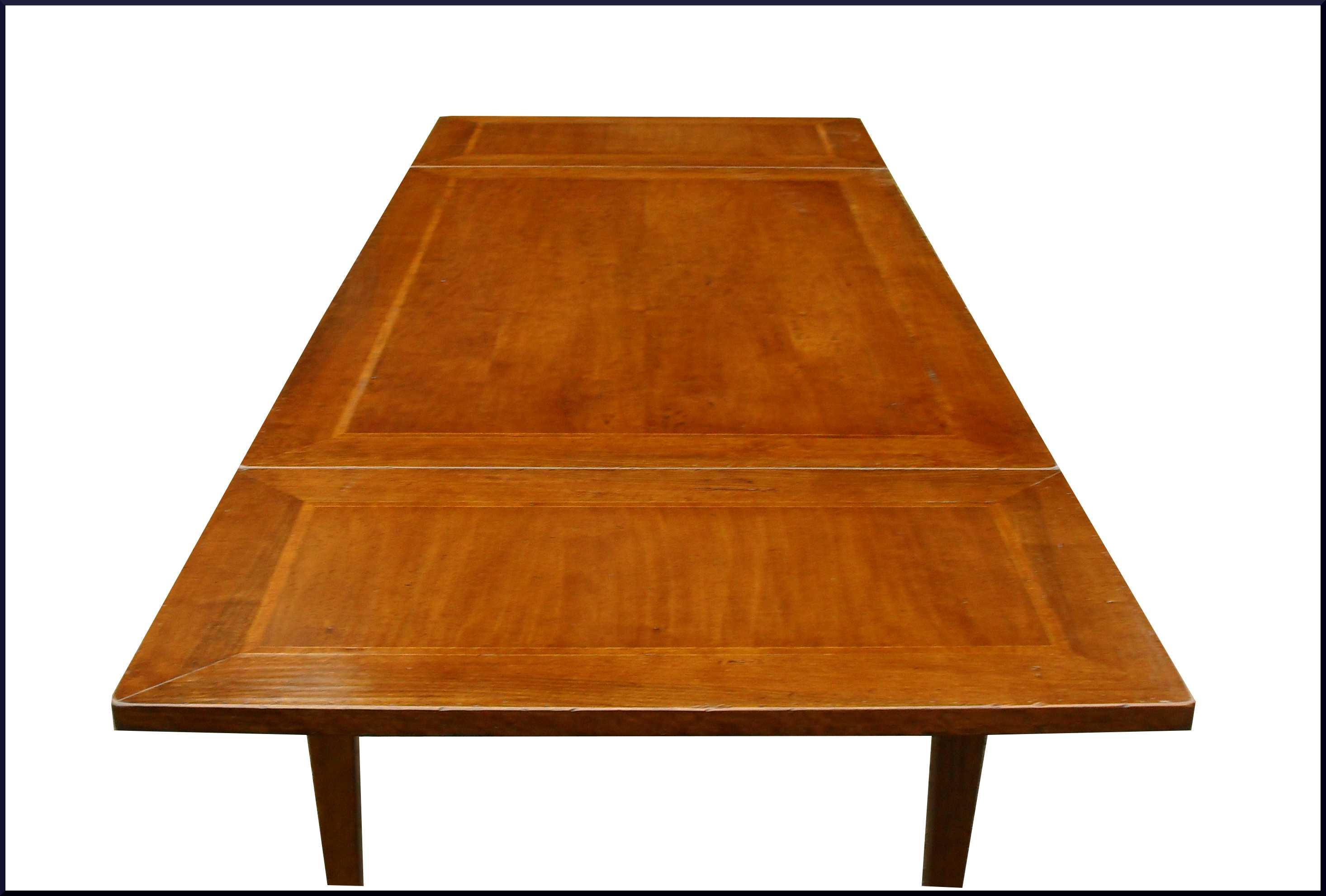 Tavolo a scatto artigianale classico su misura la commode di davide corno - Piano tavolo su misura ...