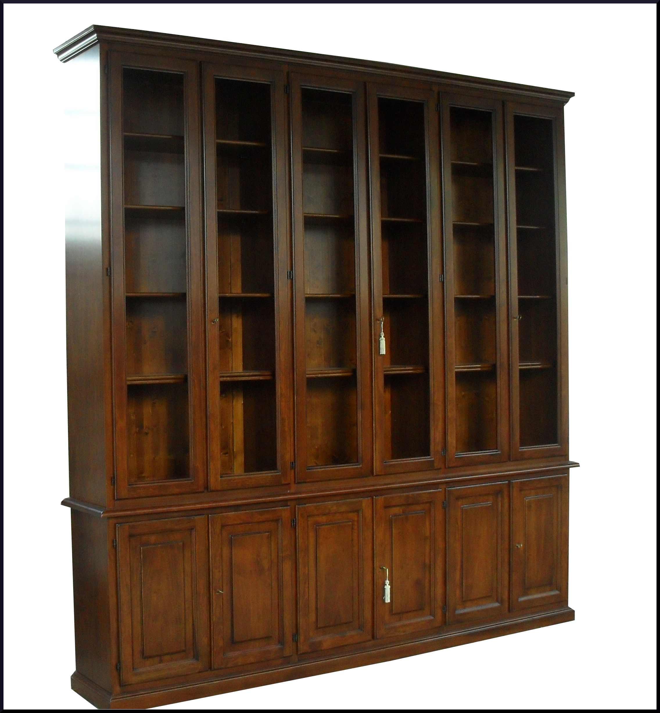 Libreria classica da ufficio su misura la commode di for Libreria da ufficio
