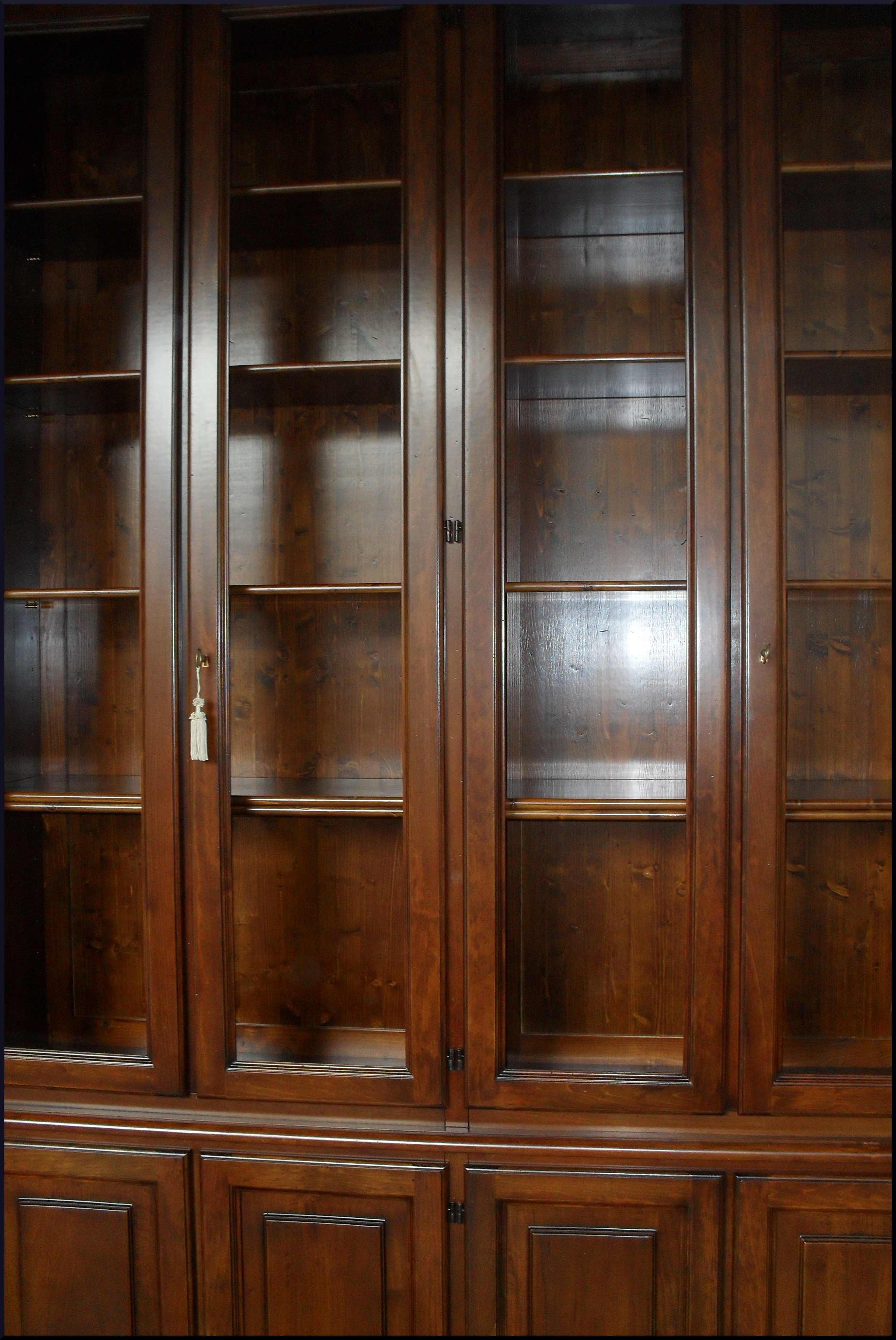 Libreria classica da ufficio su misura - La Commode di Davide Corno