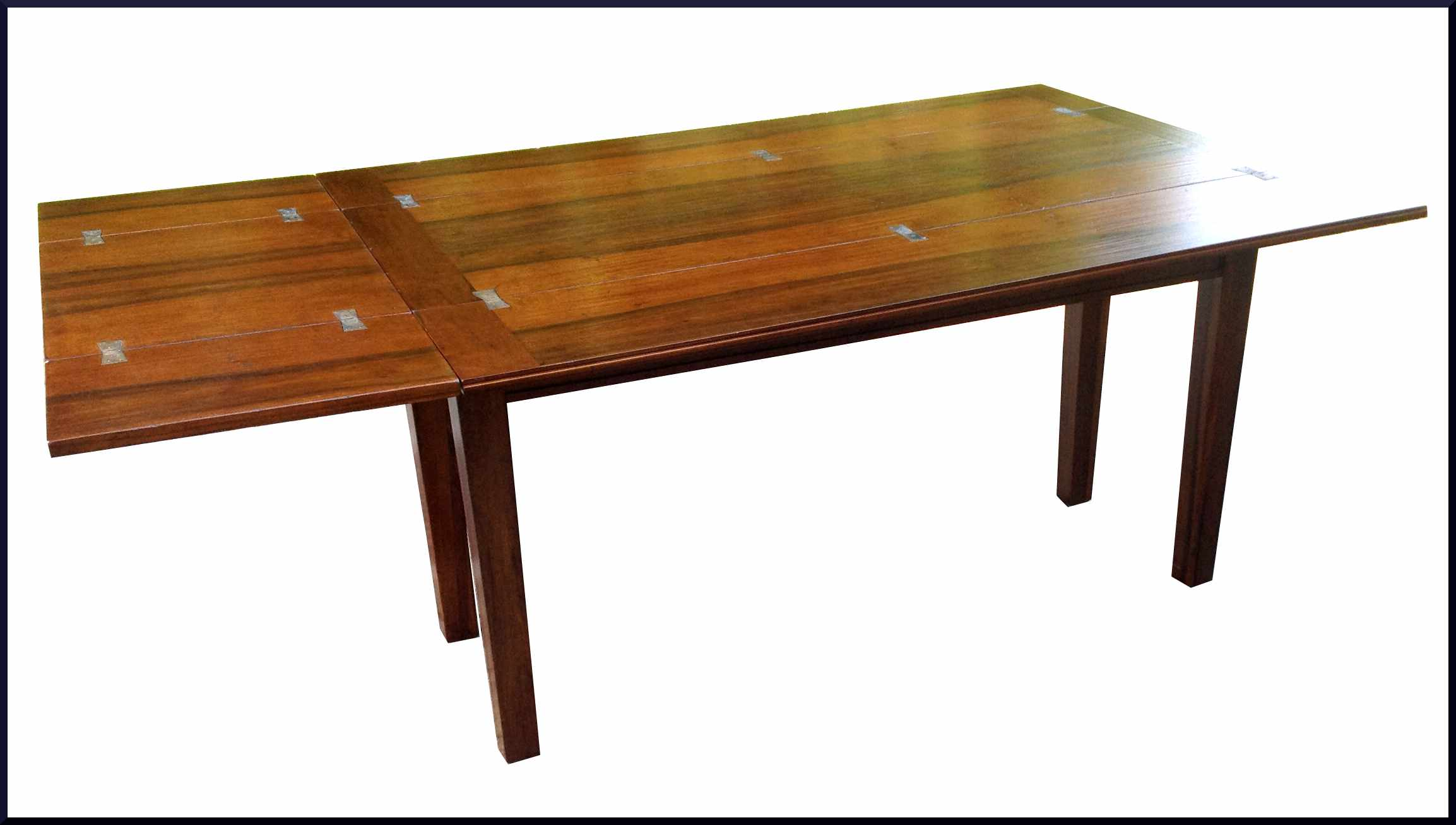 Tavolo doppia apertura con intarsio