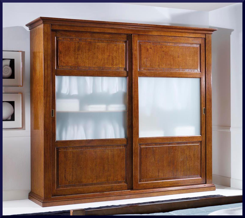Armadio in stile classico con porte scorrevoli la commode di davide corno - Armadio con porte scorrevoli ...