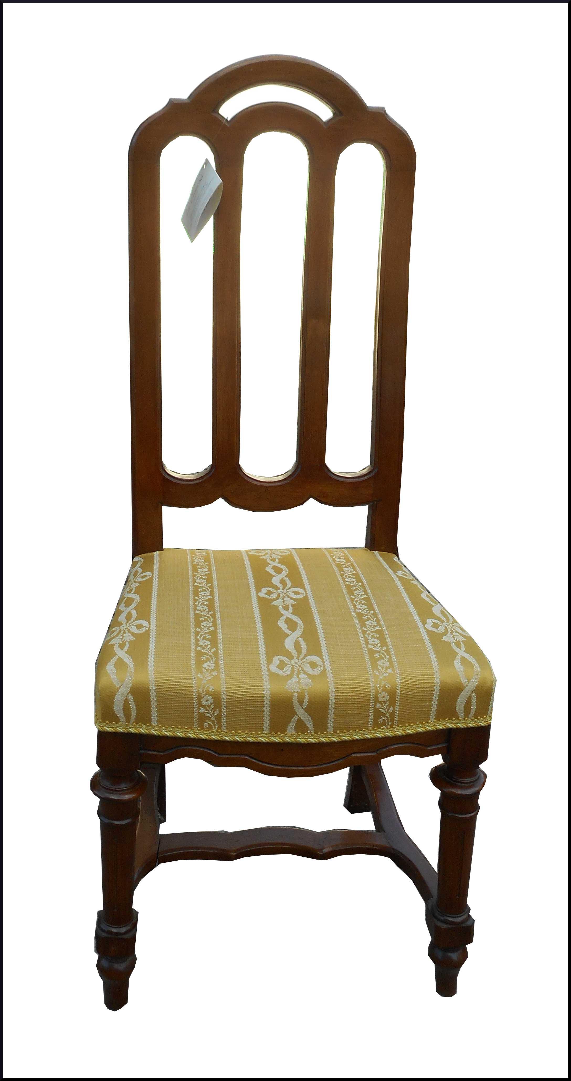 Sei sedie d 39 epoca fine 800 lombarde in noce la commode - Mobili fine 800 ...