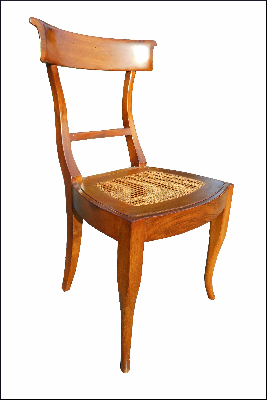 Sedia campagnola con seduta paglia di vienna la commode for Sedia design paglia di vienna
