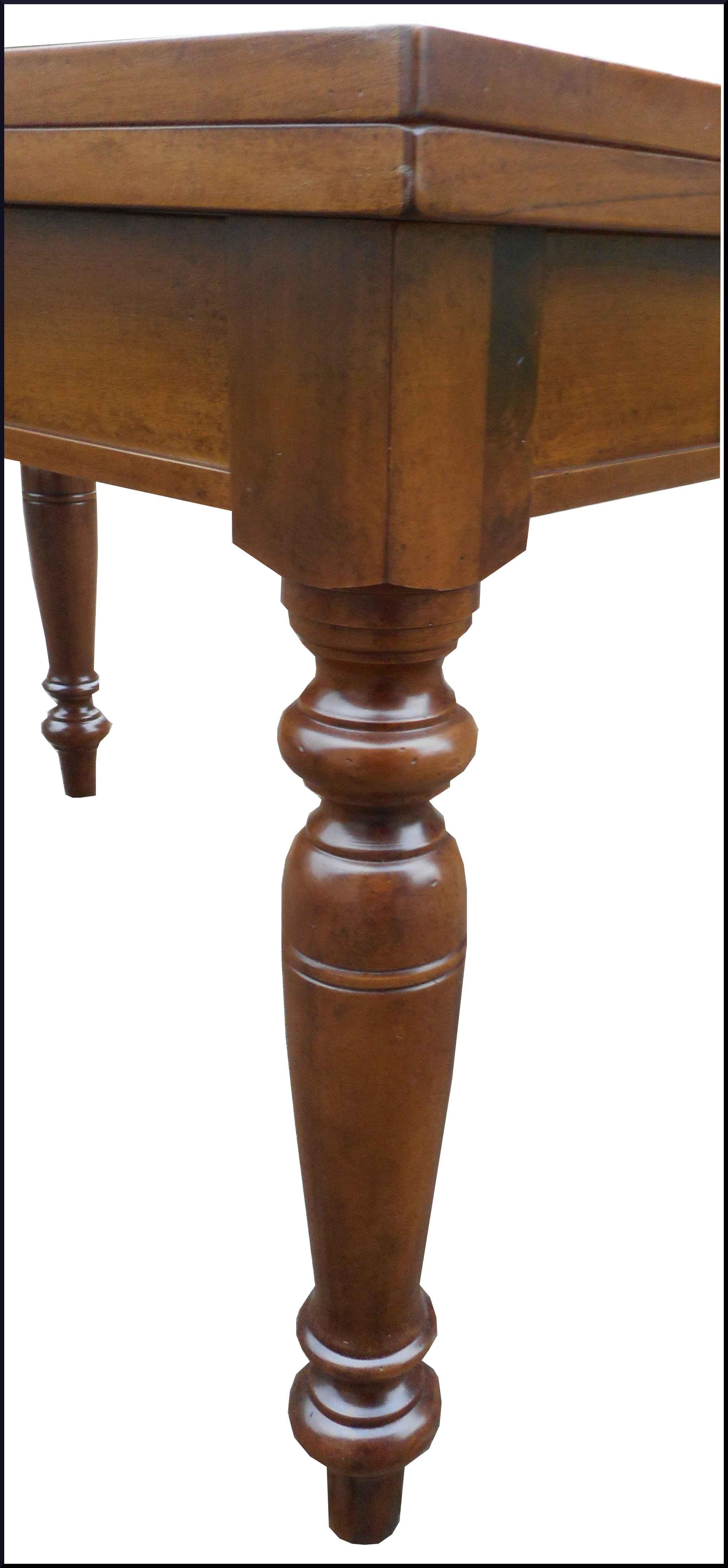 Tavolo stile 800 fisso gamba tornita