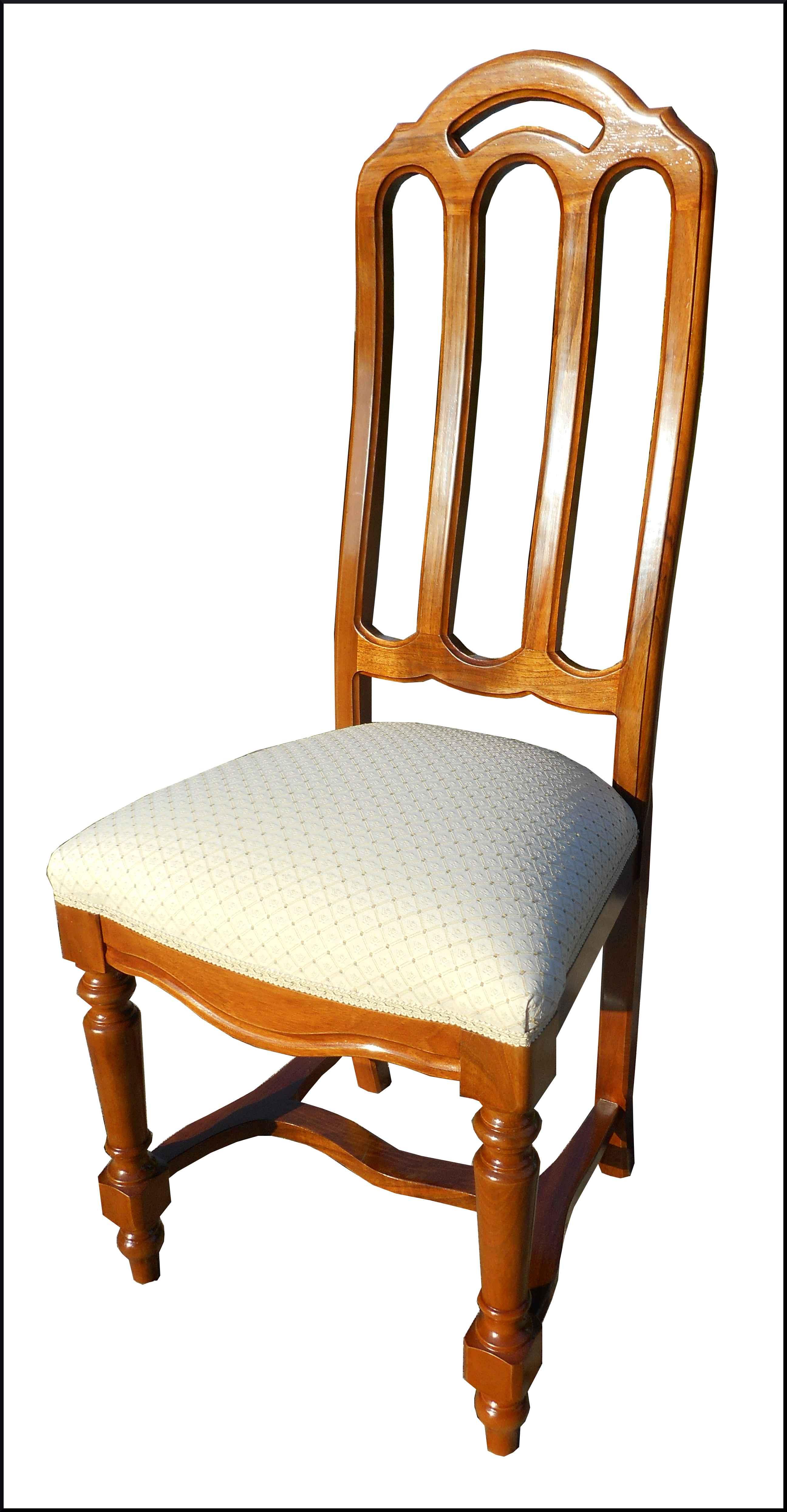 Elegante sedia stile 800 lombarda