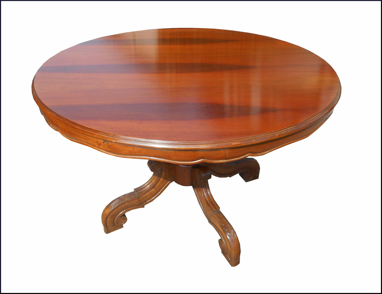 Tavolo rotondo luigi filippo con gamba intagliata la commode di davide corno - Tavolo rotondo con piede centrale ...