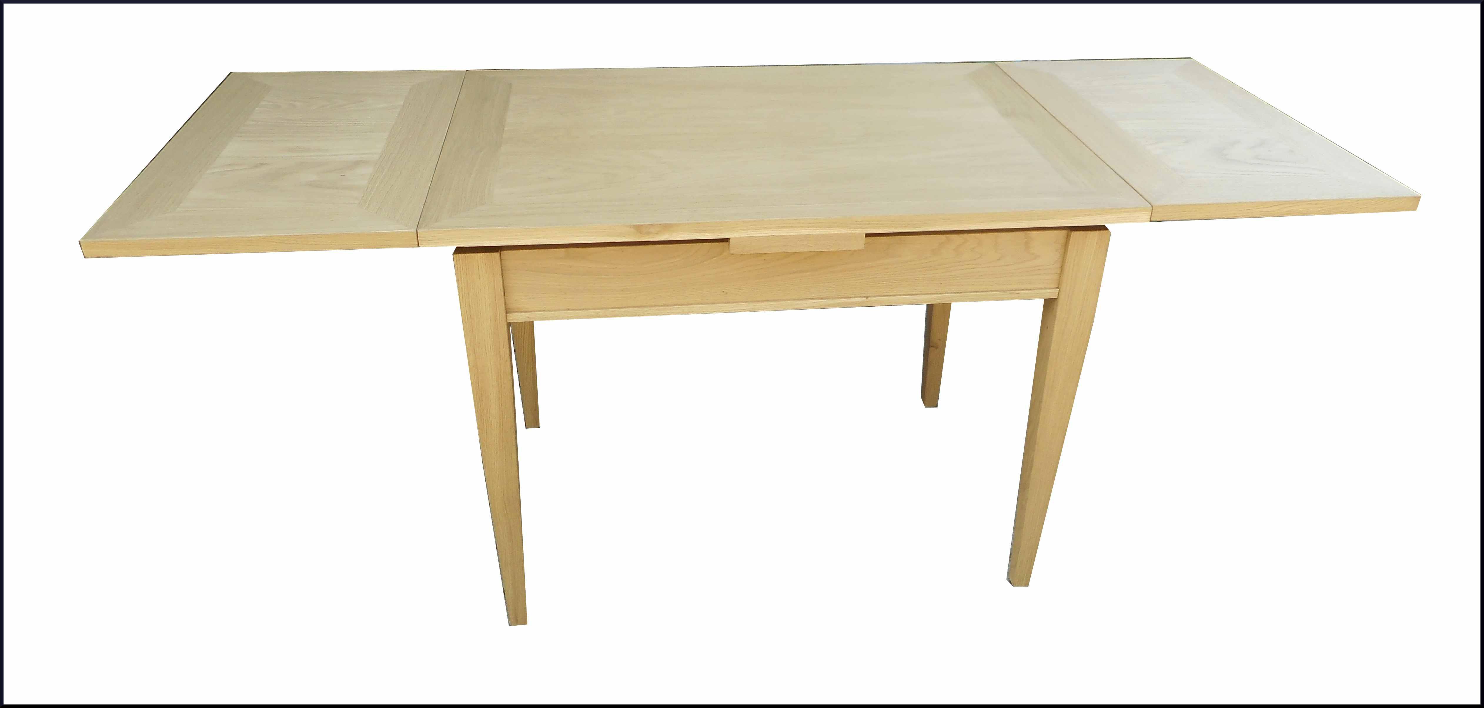 Tavolo classico in rovere naturale apribile la commode - Mobili in rovere naturale ...