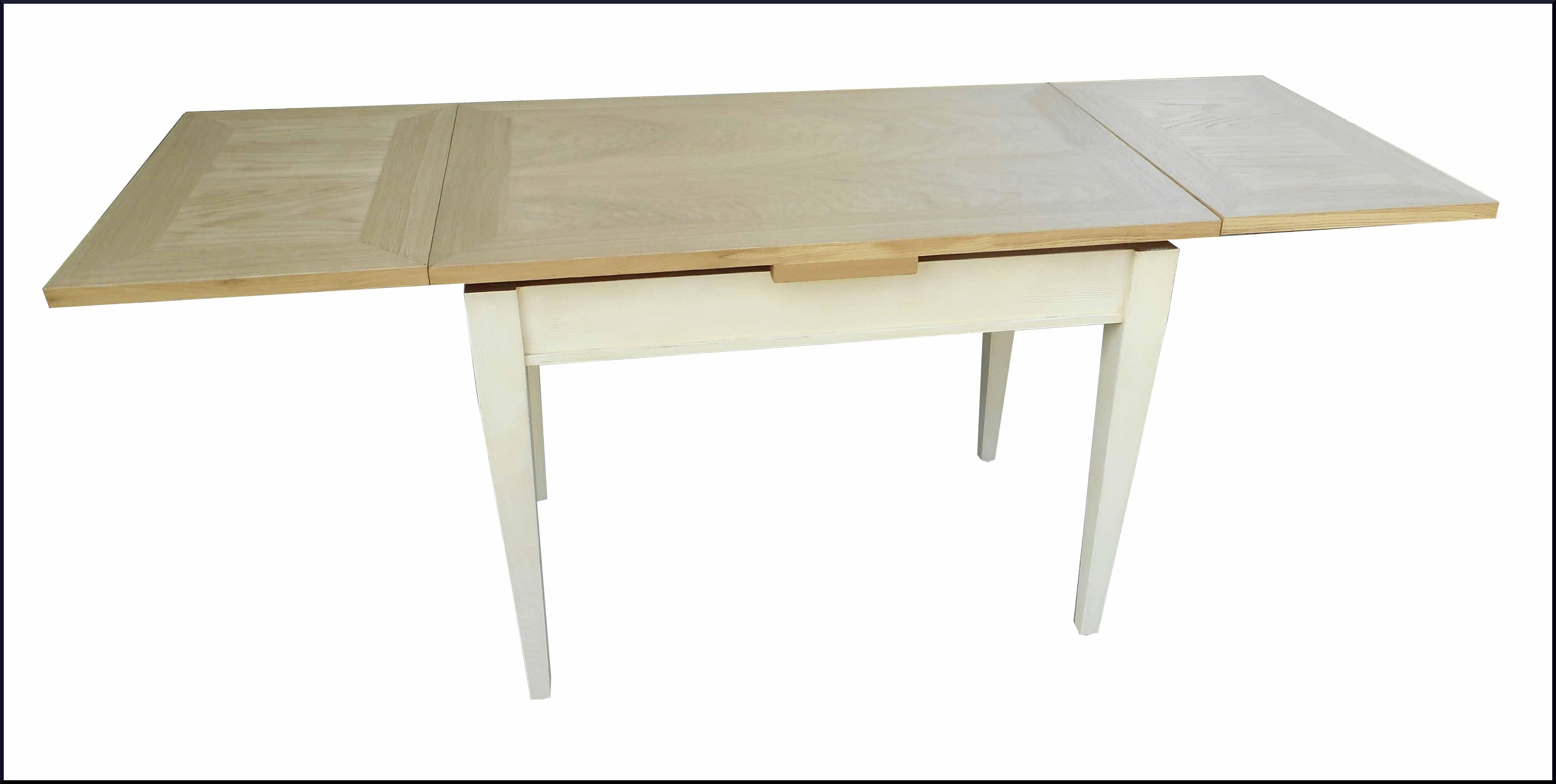 Piccolo tavolo da cucina allungabile realizzato in abete e - Tavolo piccolo allungabile ...