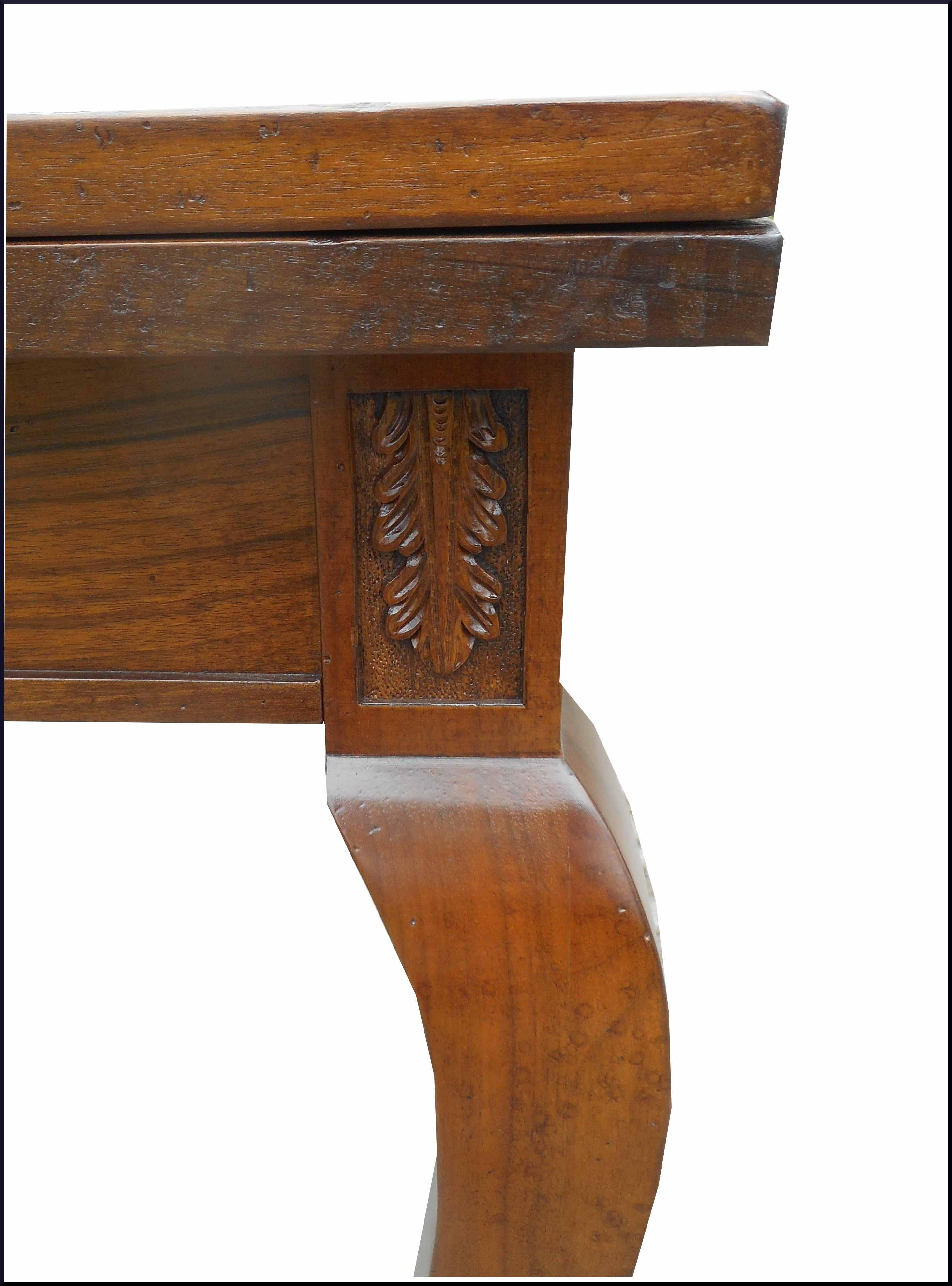 Tavolo in stile antico con intarsio la commode di davide - Mobili stile antico ...
