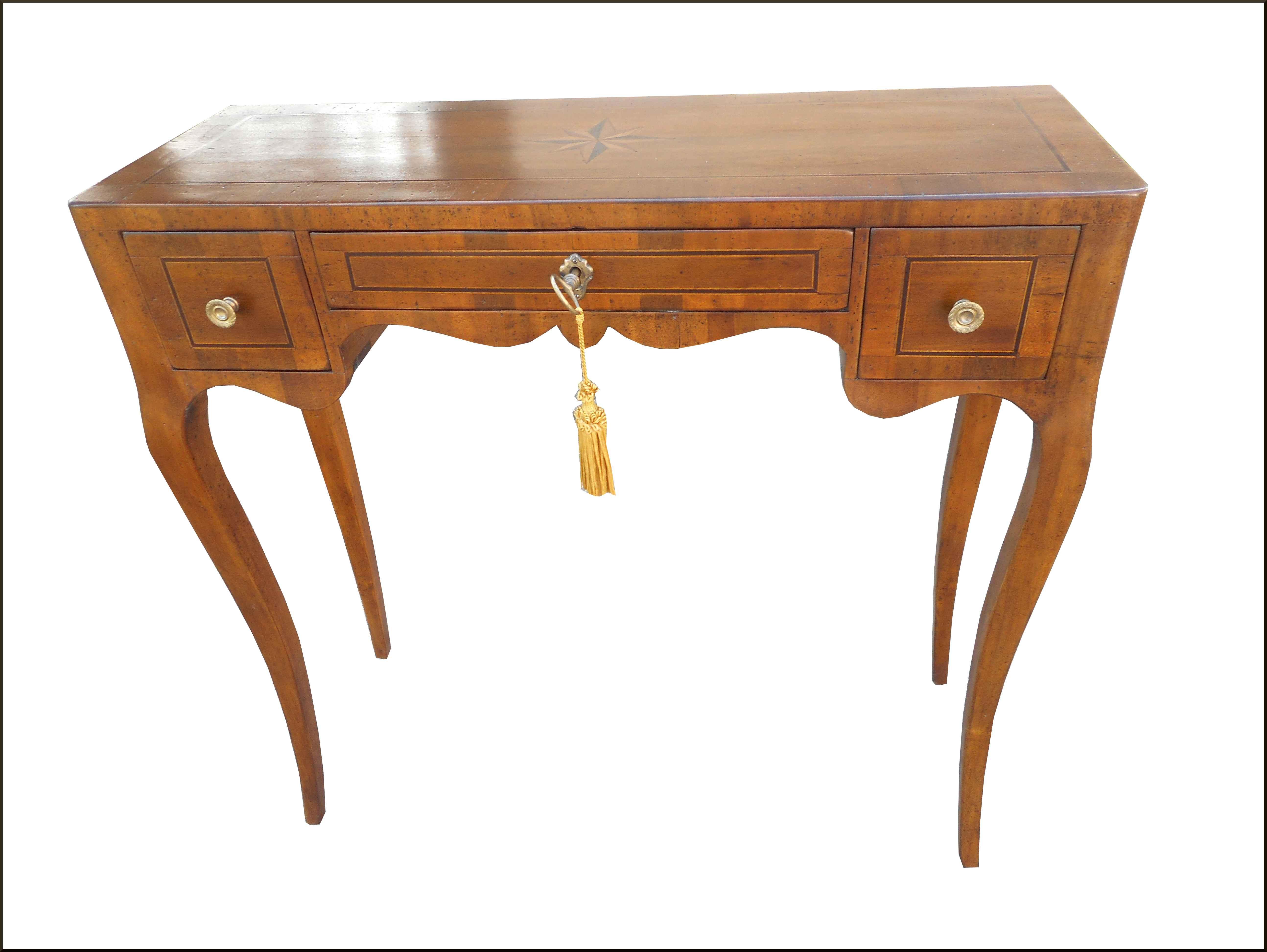Tavolino consolle classica poco profonda
