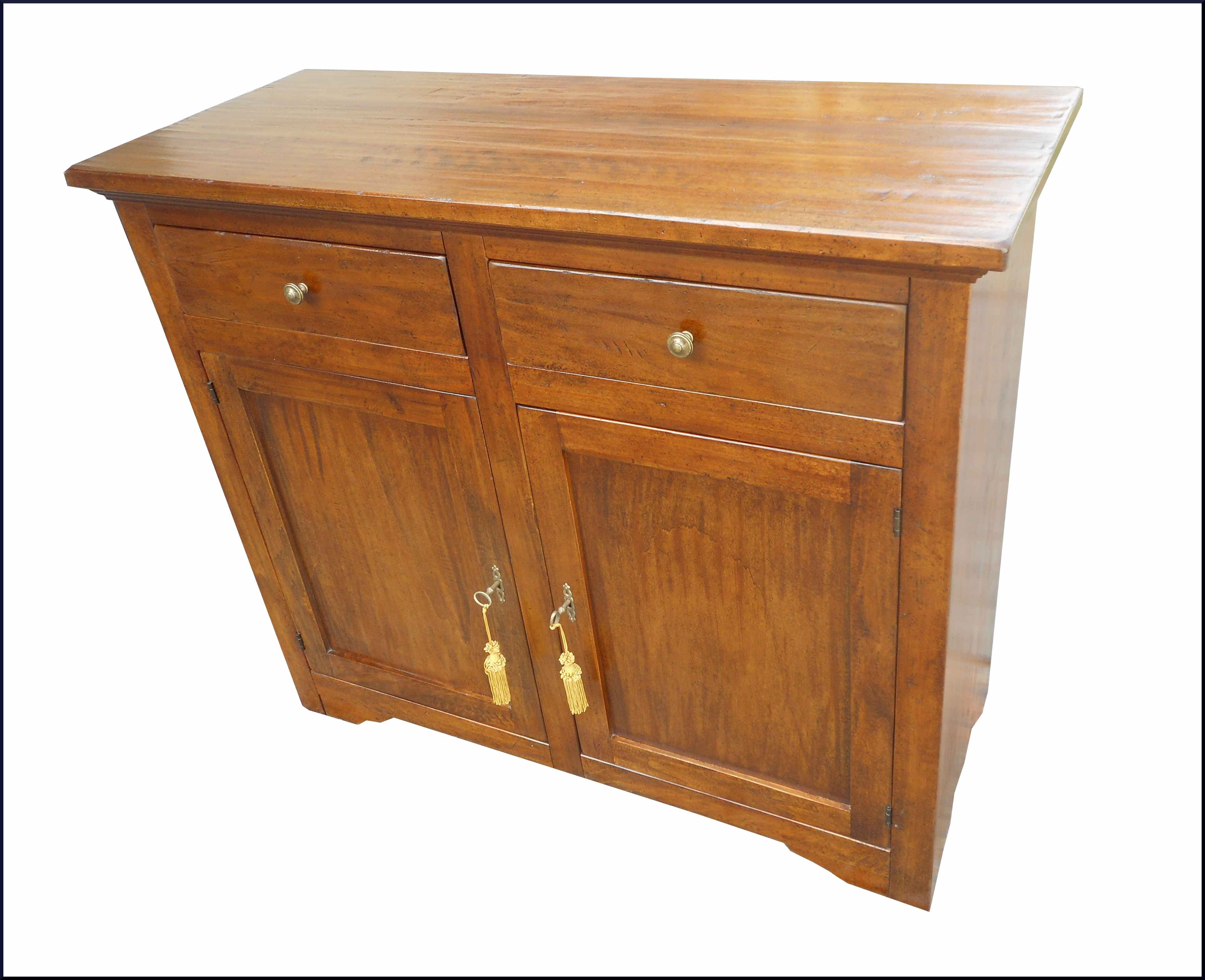 Mobile Credenza Rustica : Particolare credenza rustica in legno piallato e invecchiato con