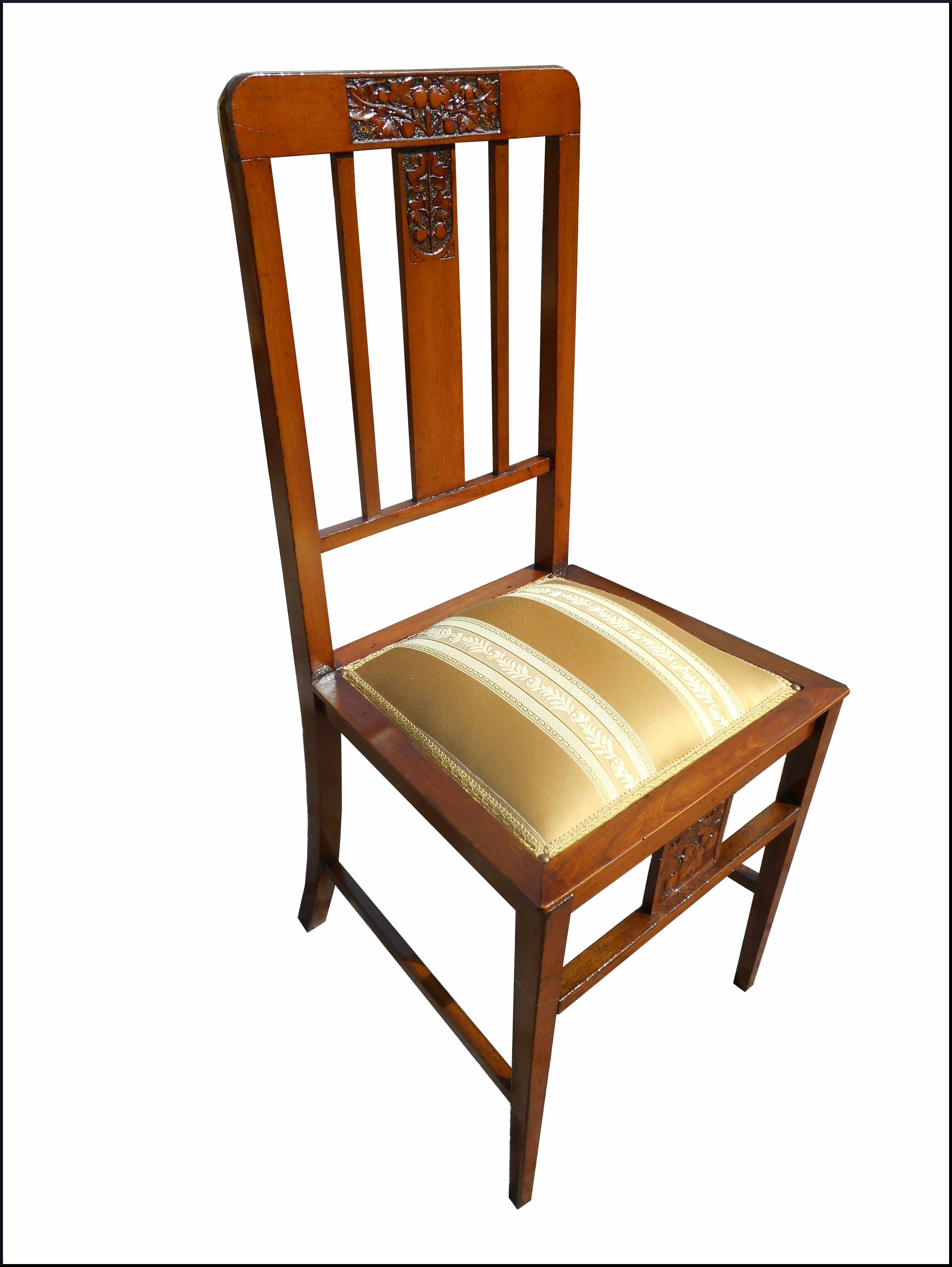Capotavola con sedie liberty la commode di davide corno - Sedie capotavola ...