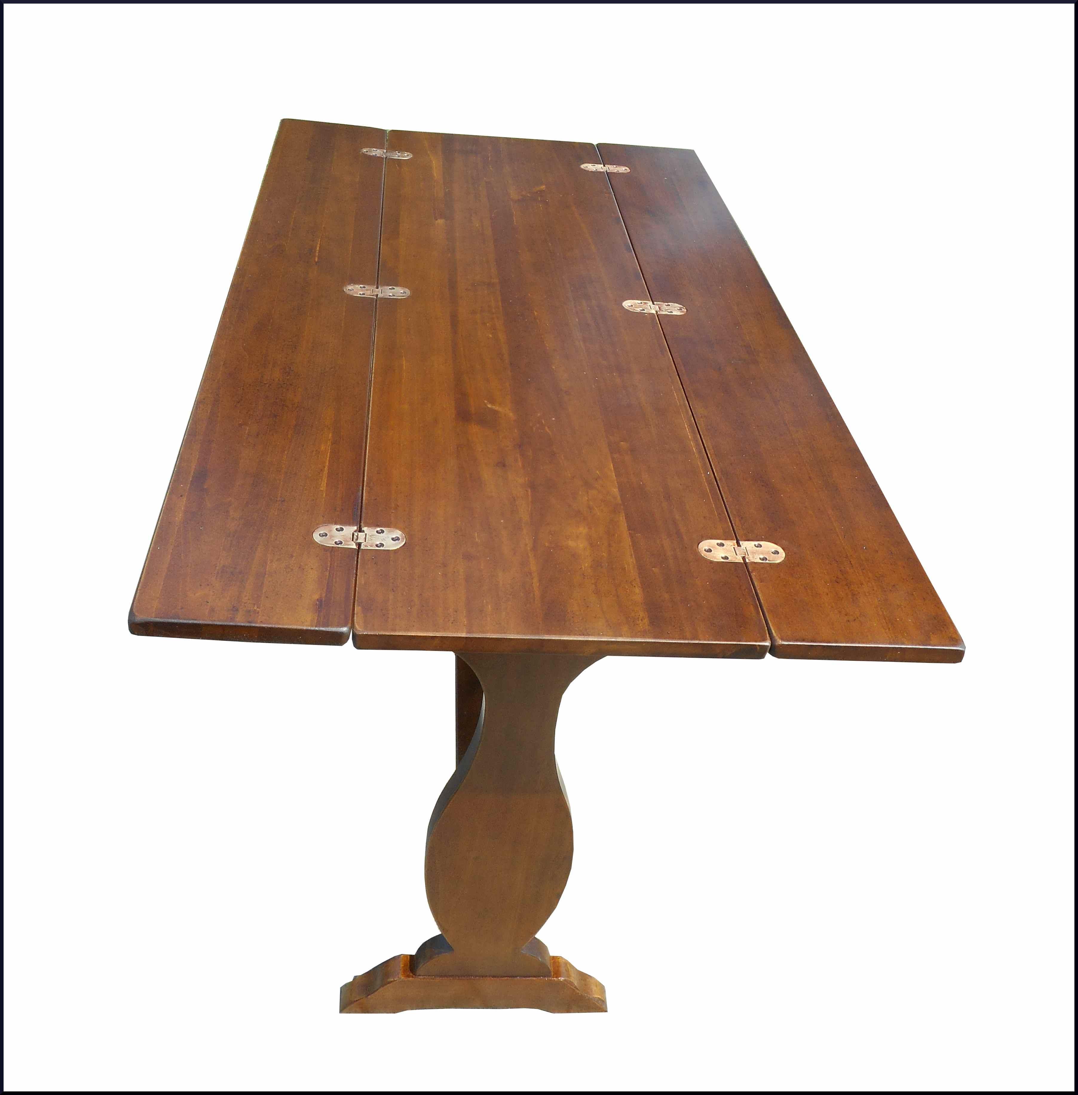 Tavolo consolle con base fratina