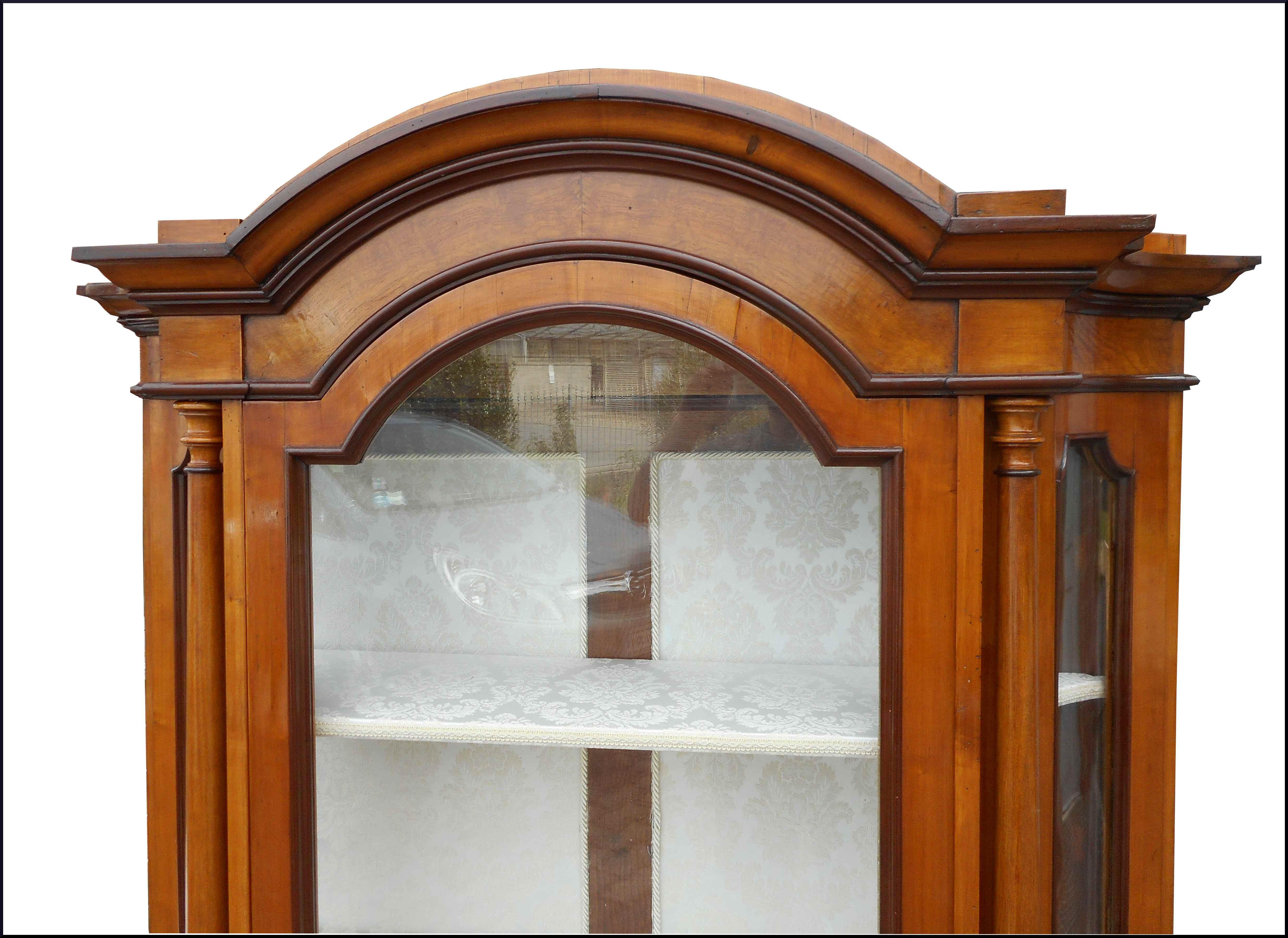 Antica vetrina 800 lombarda la commode di davide corno for Ebay classico