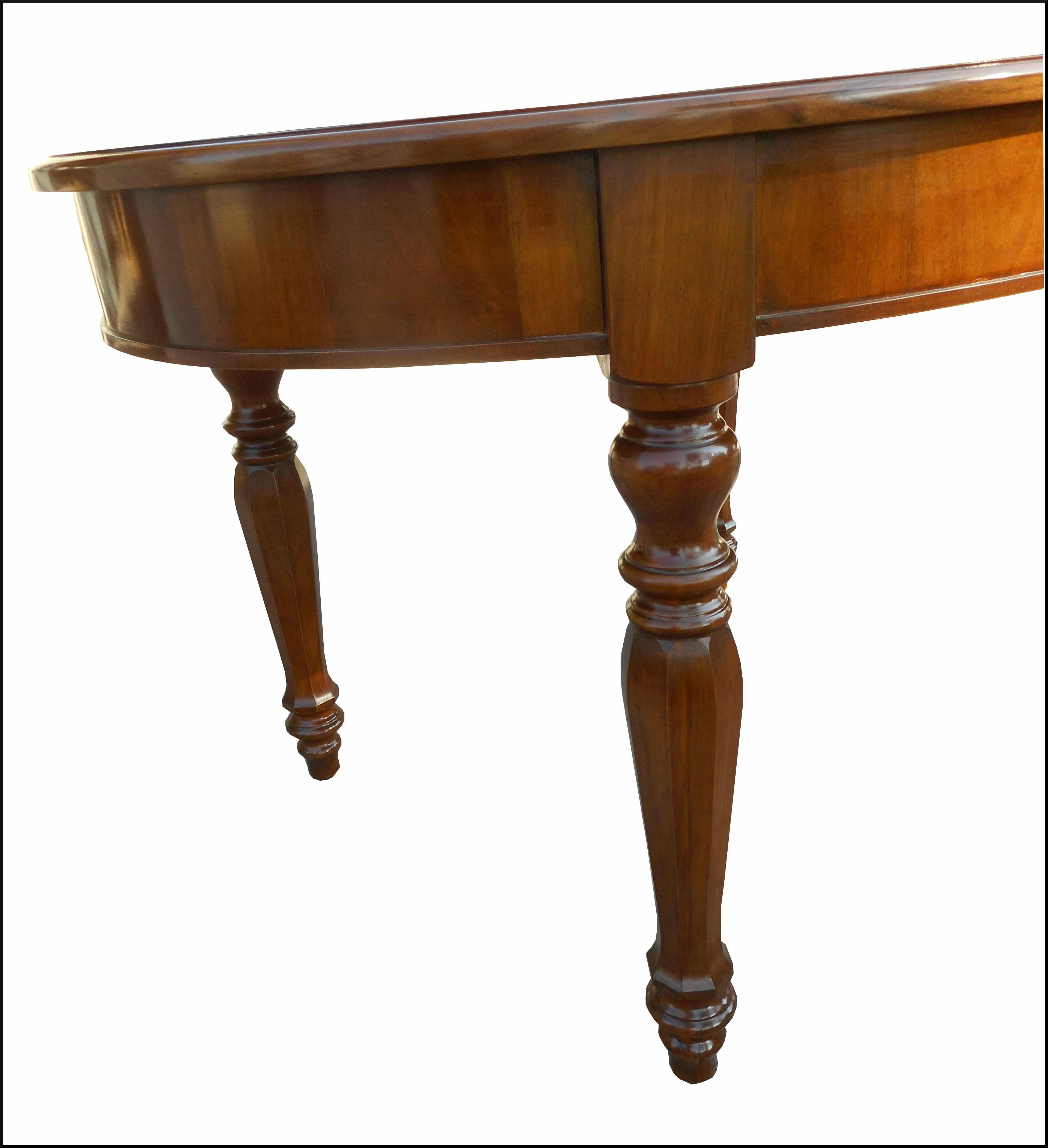 Tavolo ovale classico artigianale