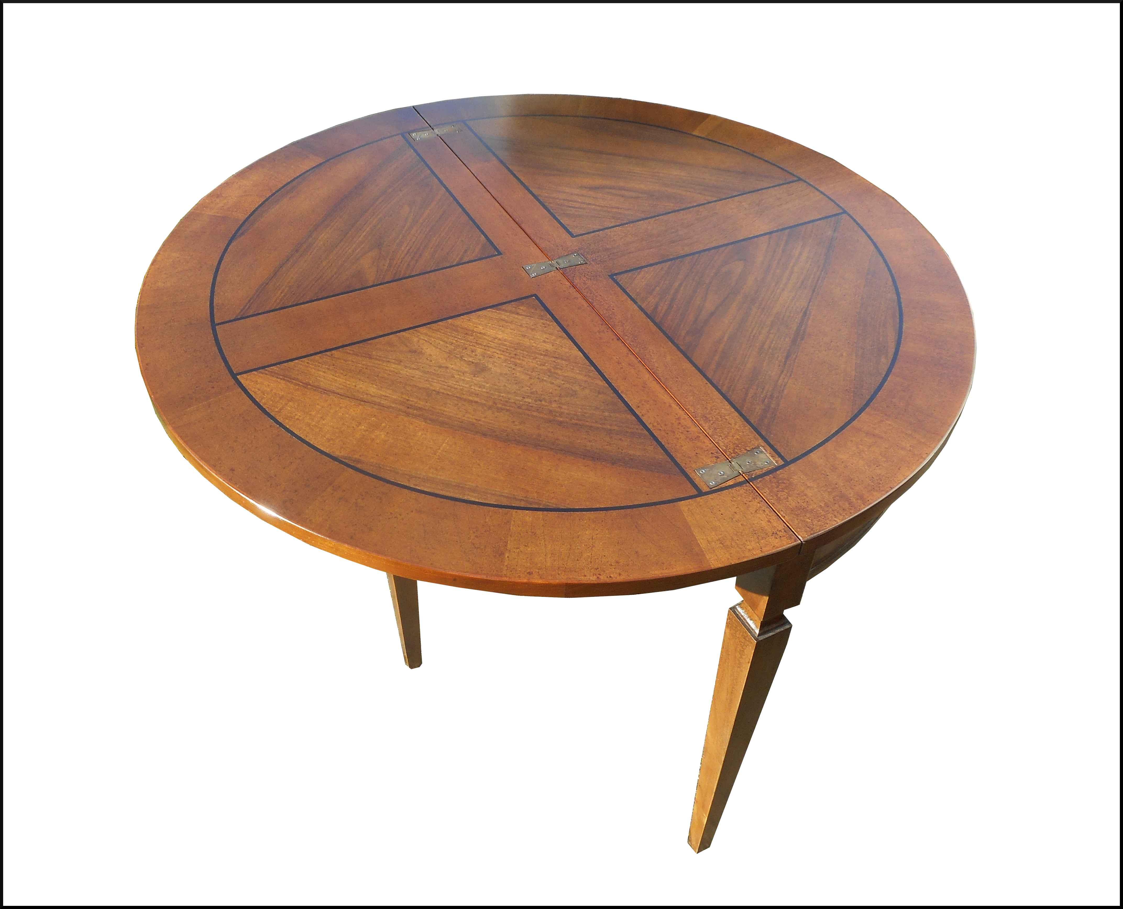Tavolo consolle apribile mezzaluna