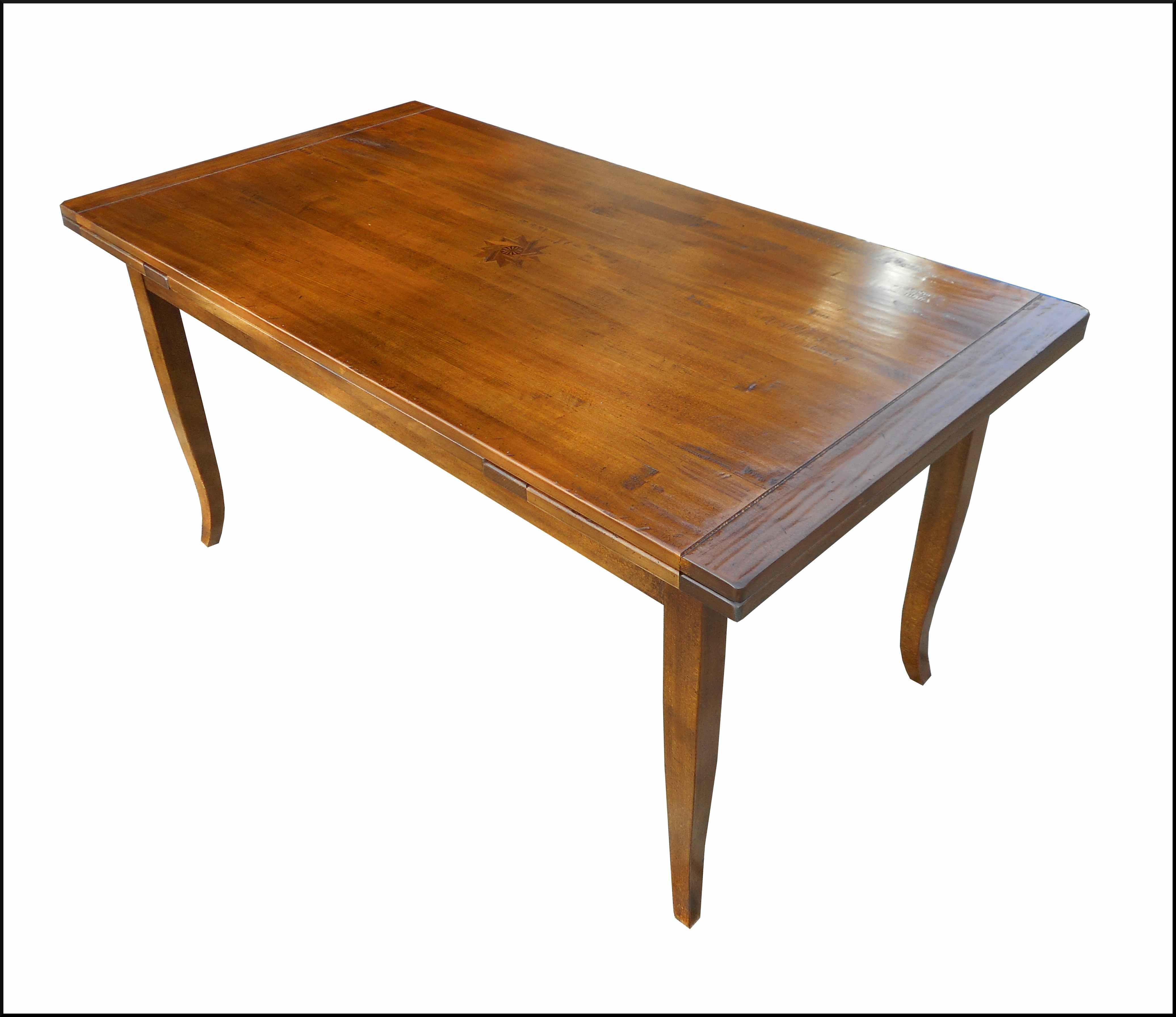 Tavolo rettangolare classico con intarsio