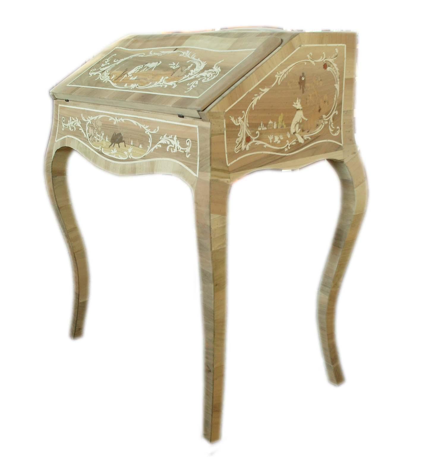 Bellissima ed elegante ribaltina con segreto interno in stile veneto del 700 la commode di - Mobili in stile cerea ...