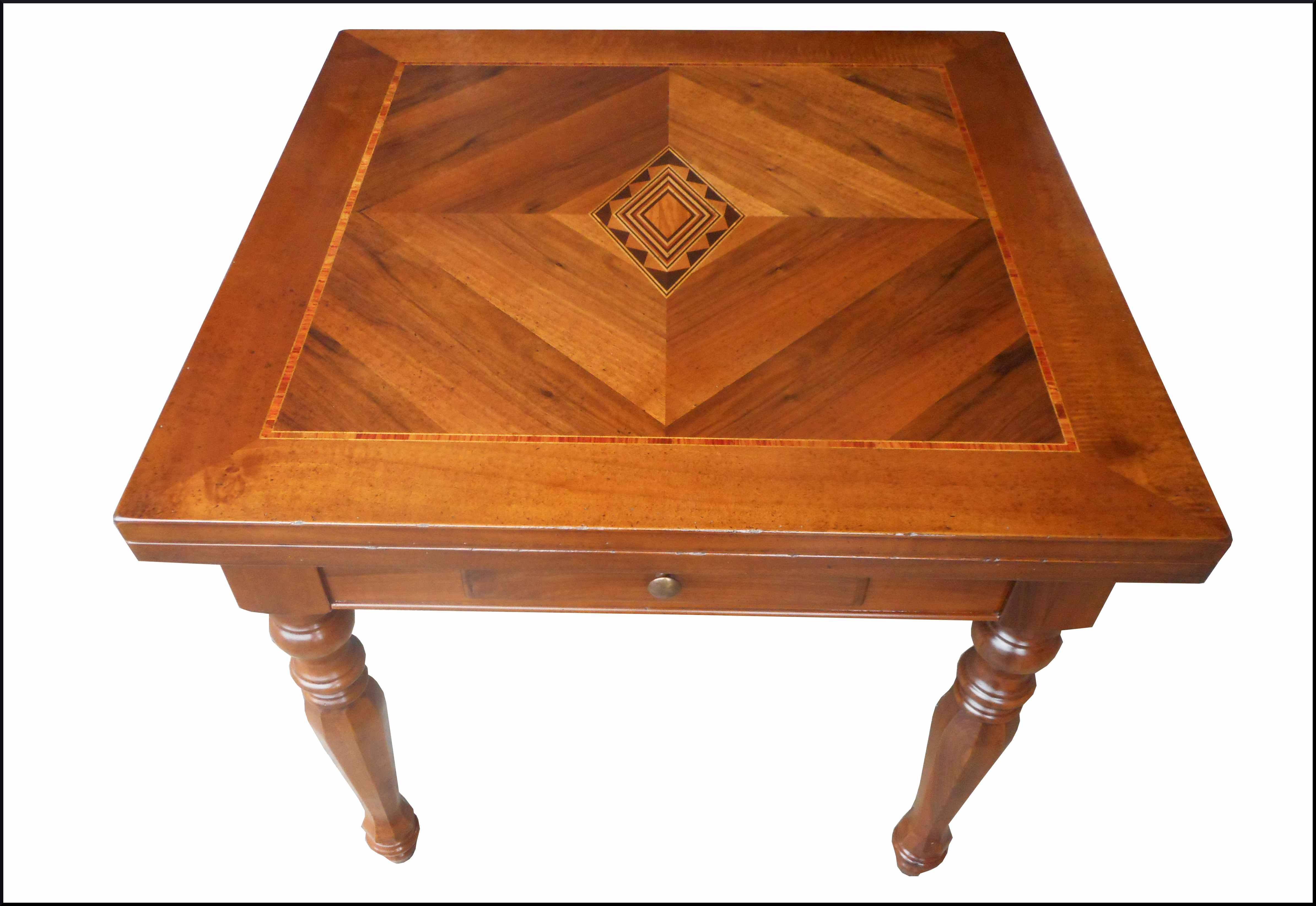 Tavolo quadrato classico 90x90 milano
